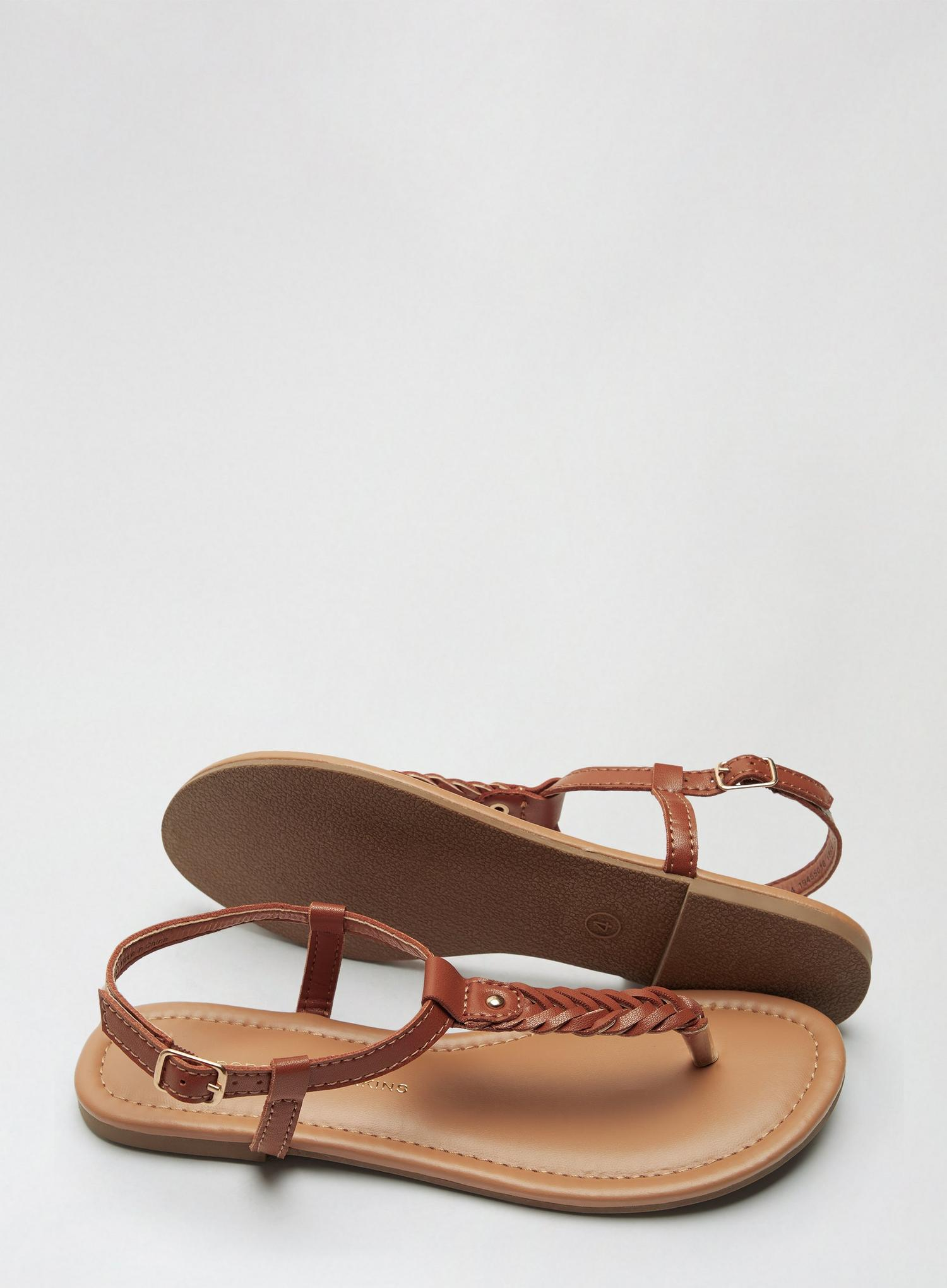 109 Tan Free Sandals image number 4