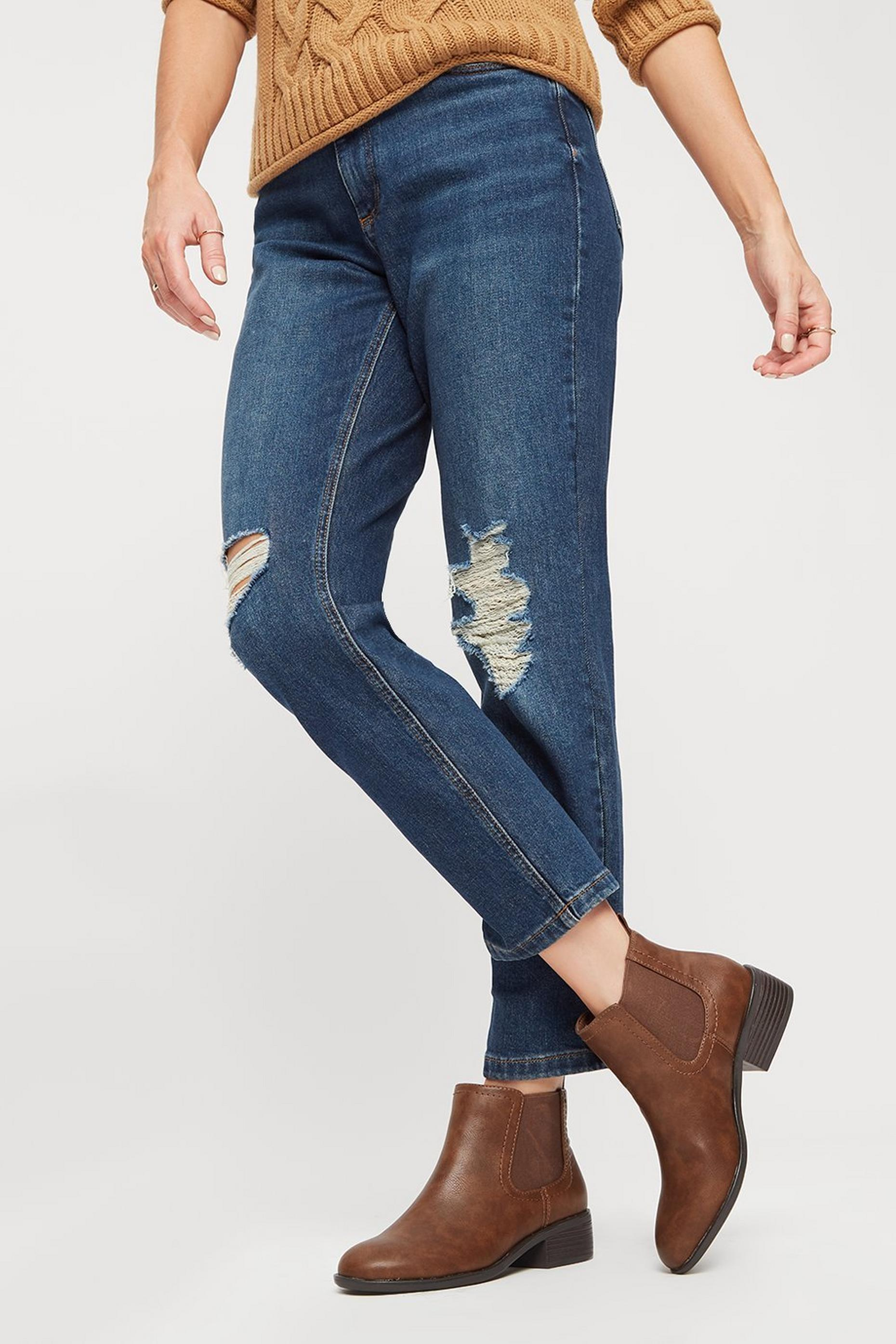 Tan PU Maple Chelsea Boots