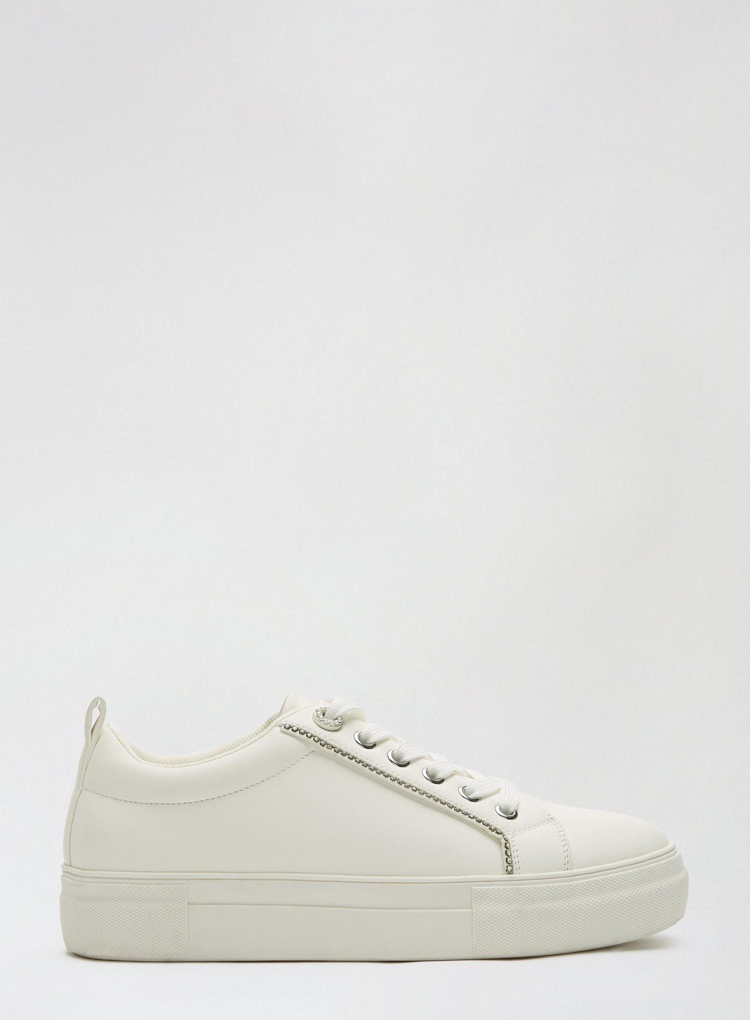 173 White Inaya Trainers image number 2