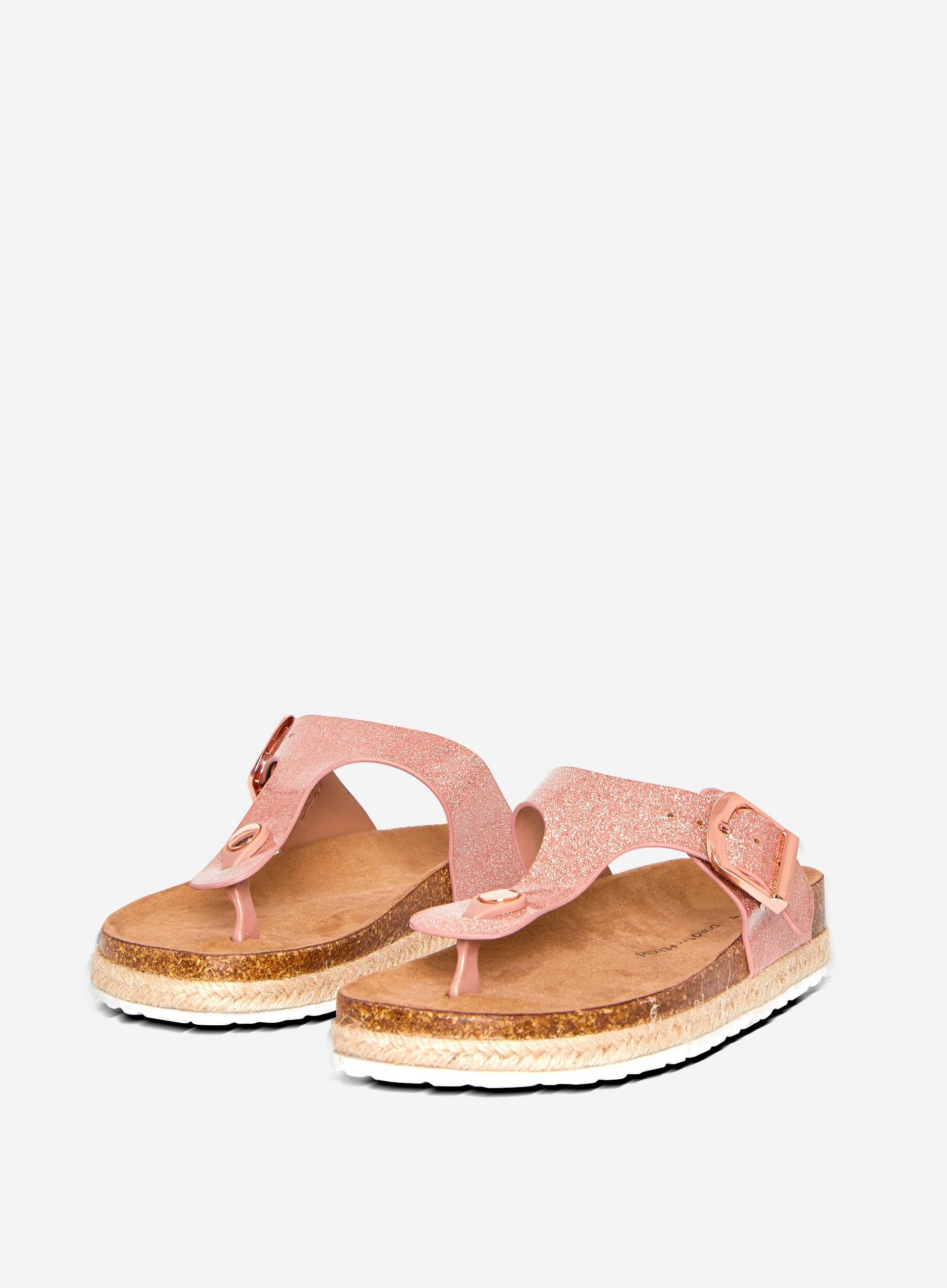 Rosegold Fleetwood Sandals
