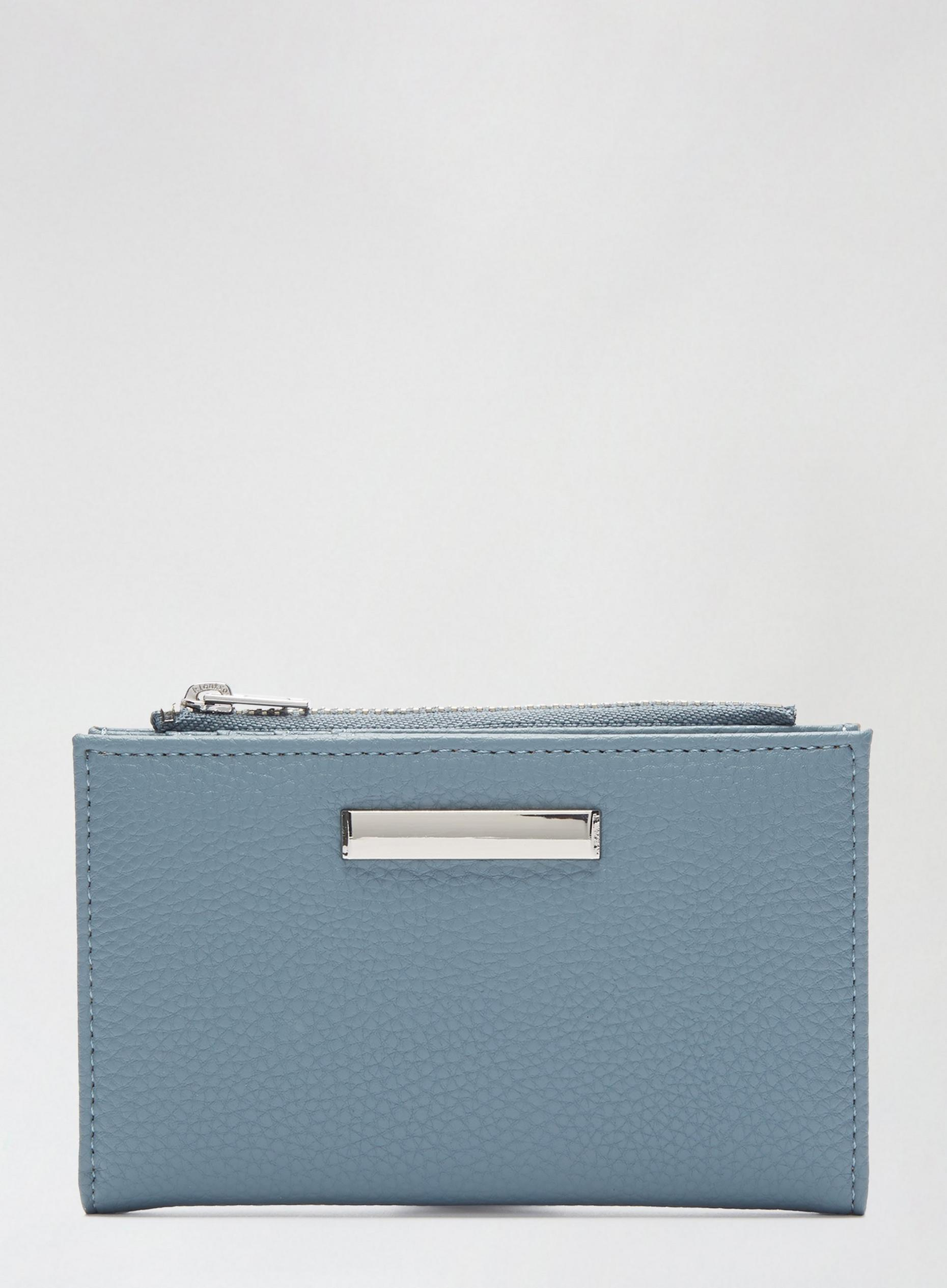 Blue Grain Purse