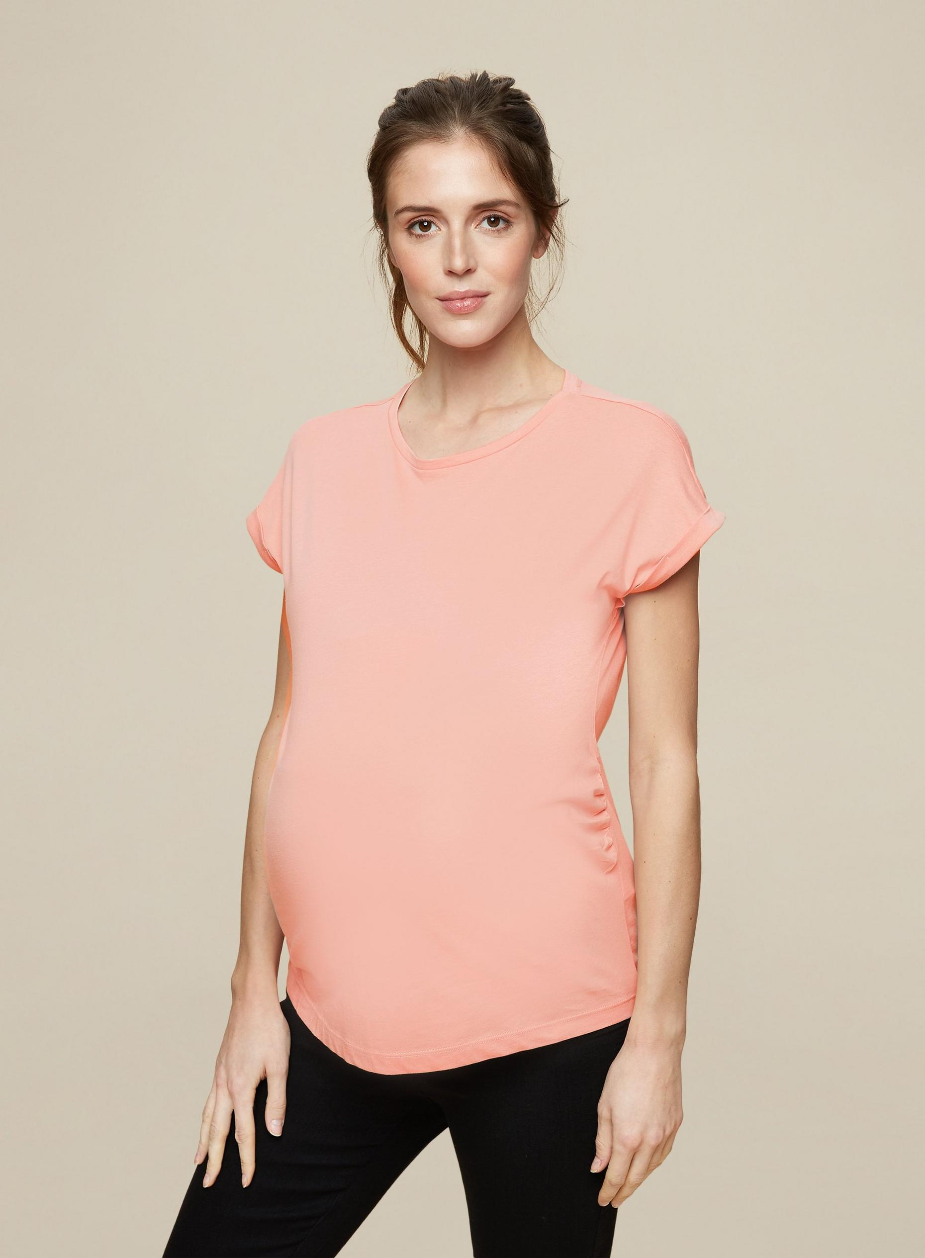 Maternity 3 Pack Roll Sleeve T-Shirts