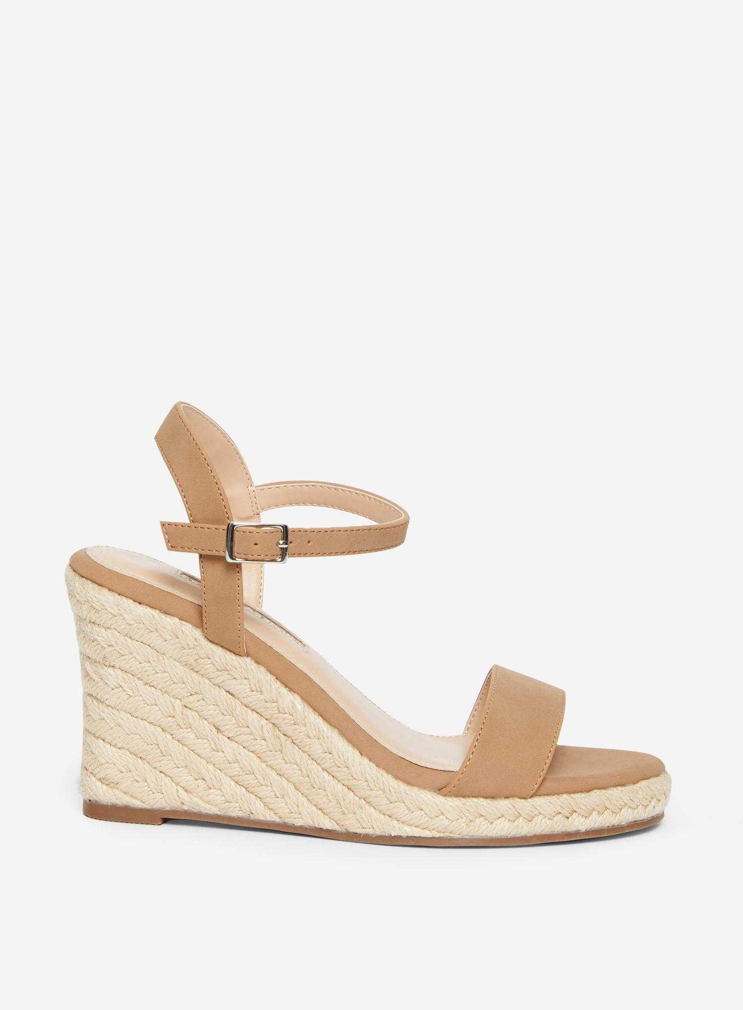 641 Taupe Ray-Ray Wedge Sandal  image number 2