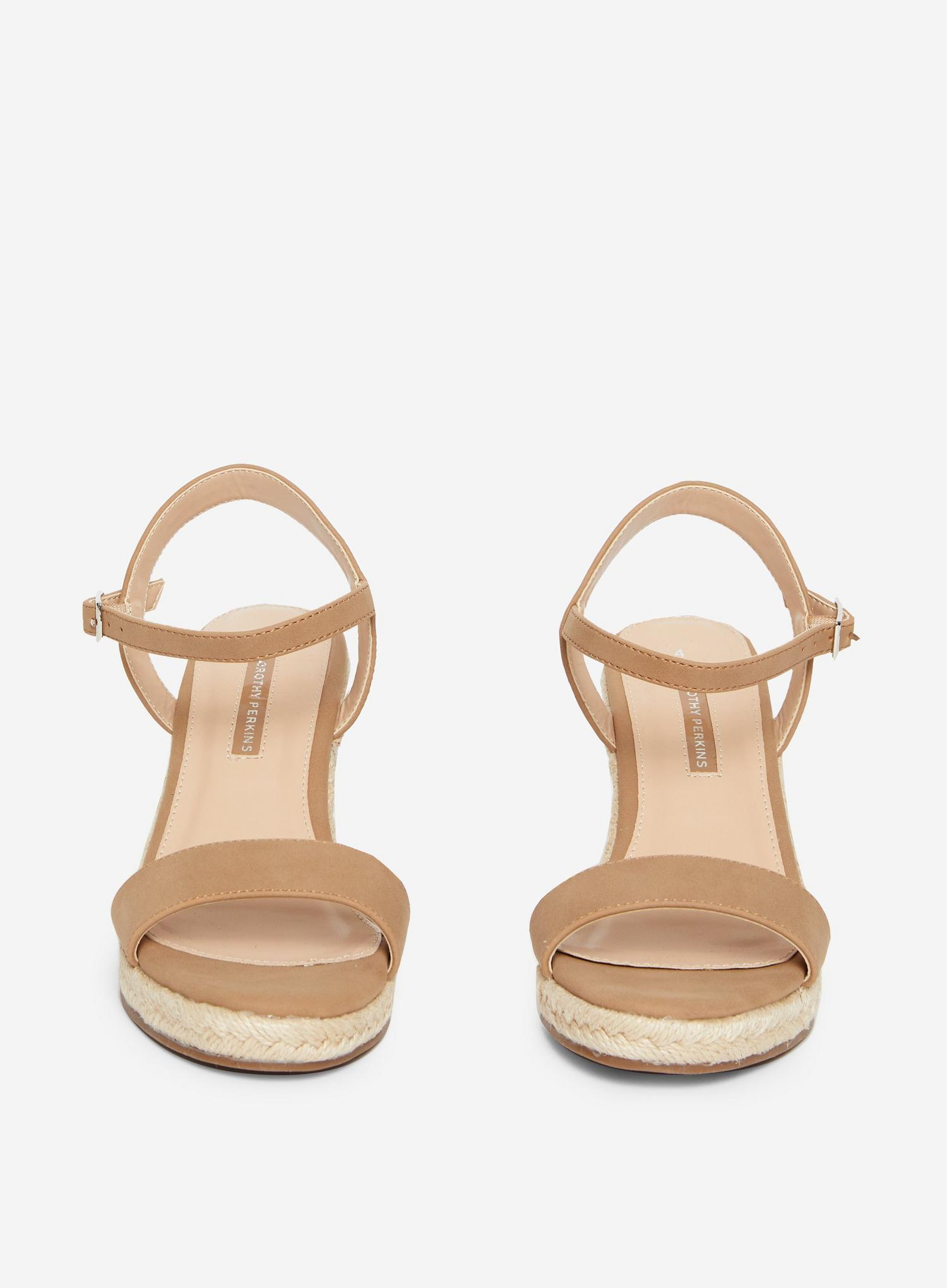 641 Taupe Ray-Ray Wedge Sandal  image number 3