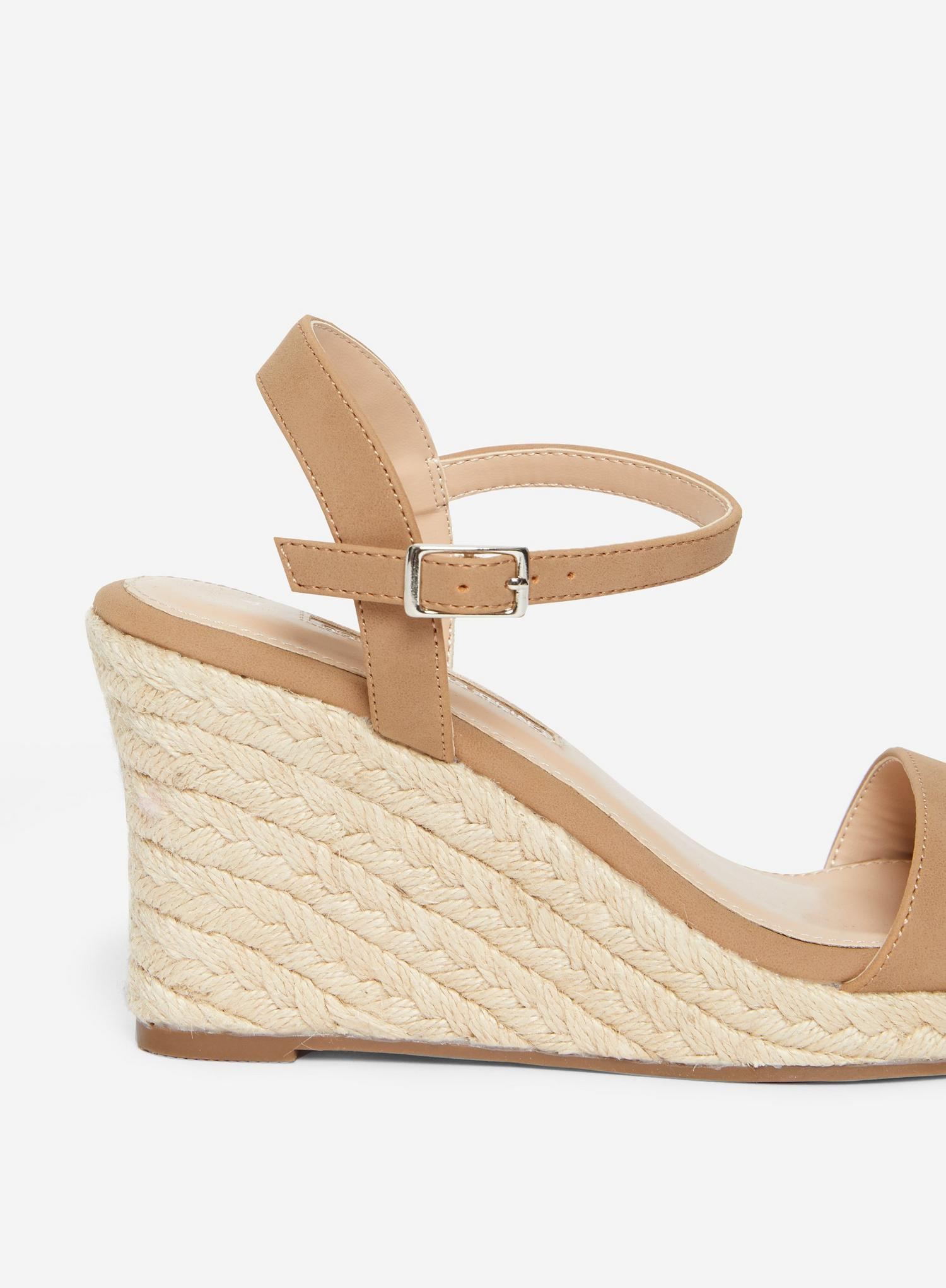 641 Taupe Ray-Ray Wedge Sandal  image number 4