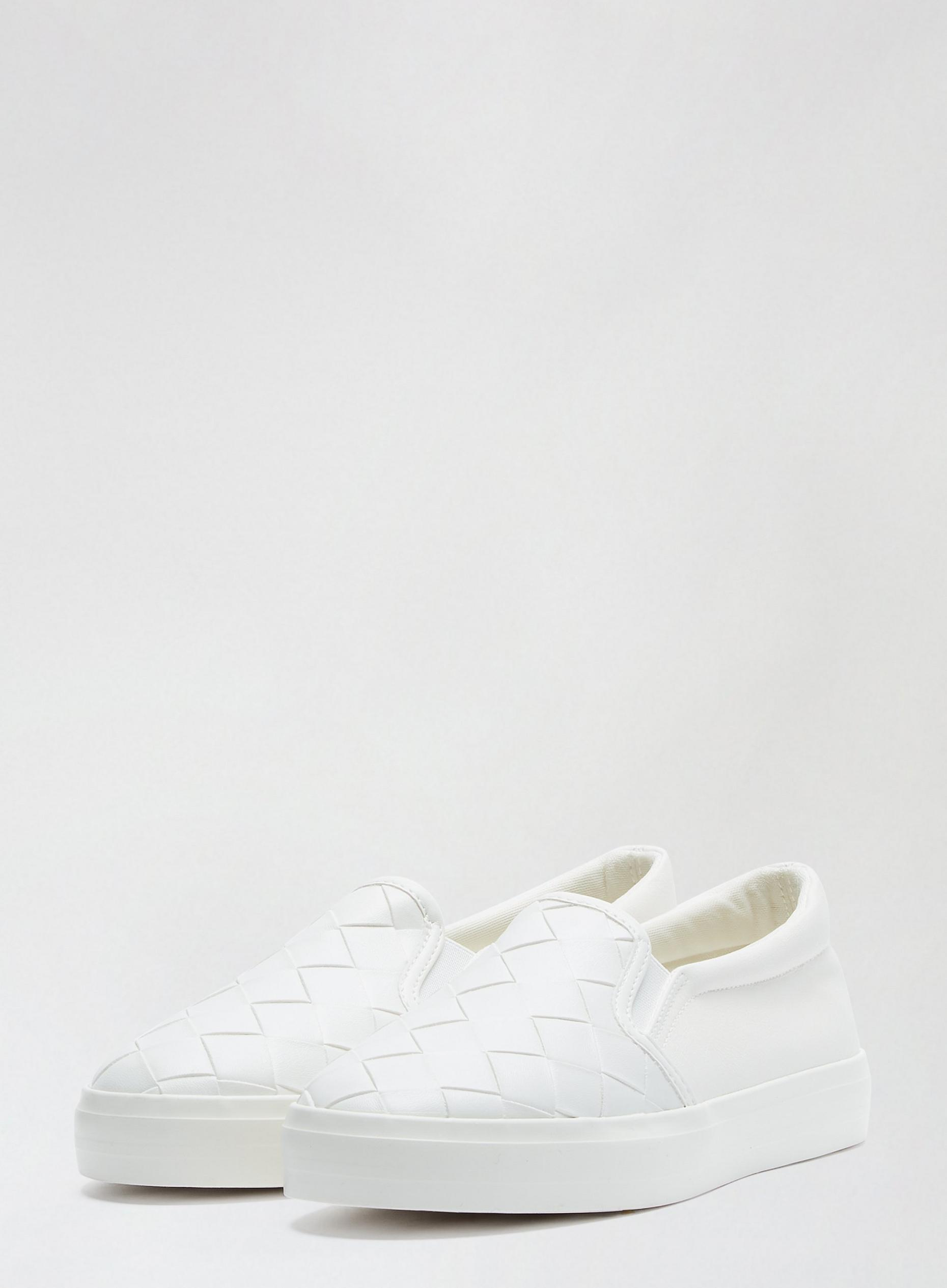 White Iva Trainers