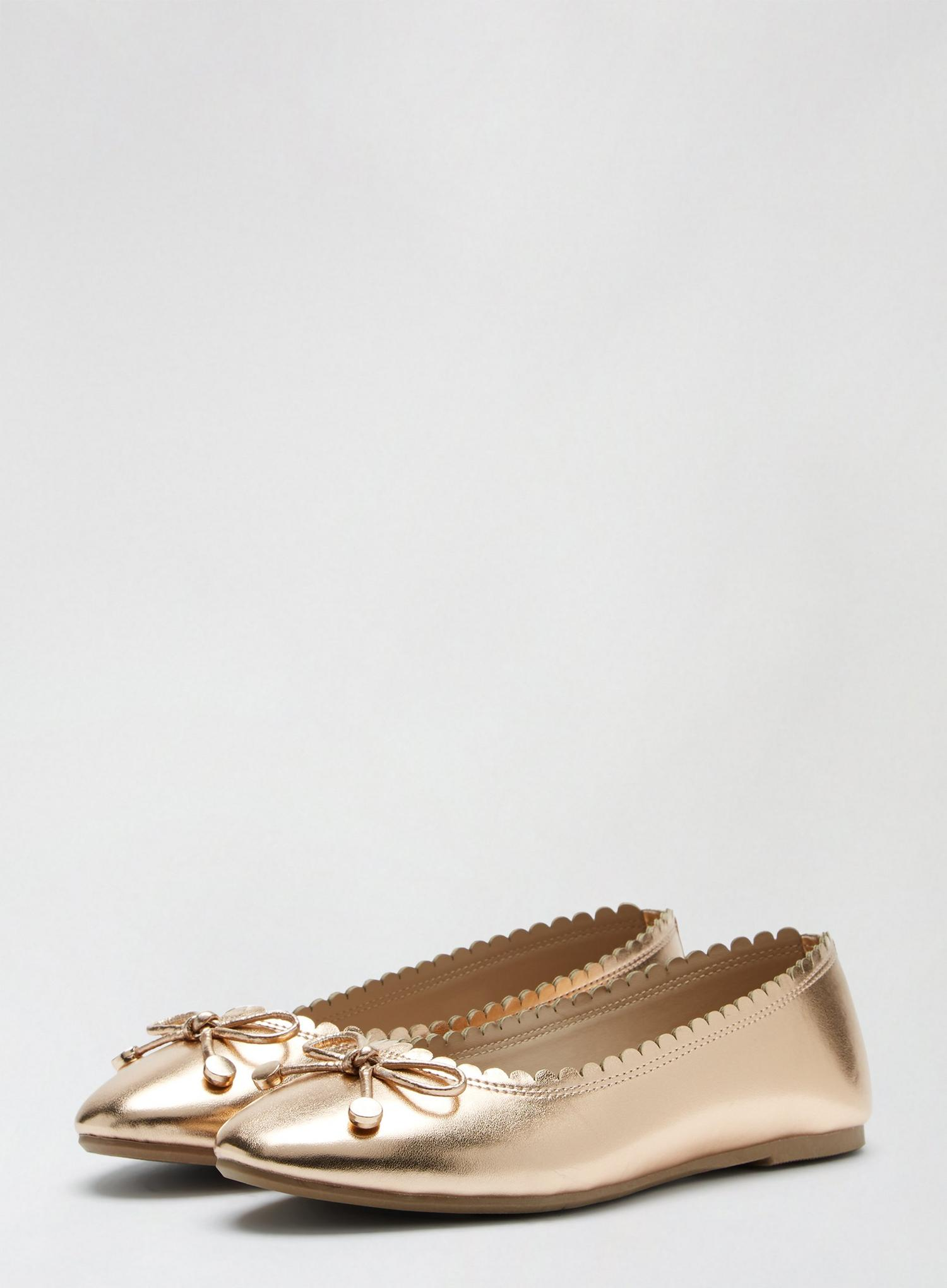 579 Rose Gold Peace Pump image number 1