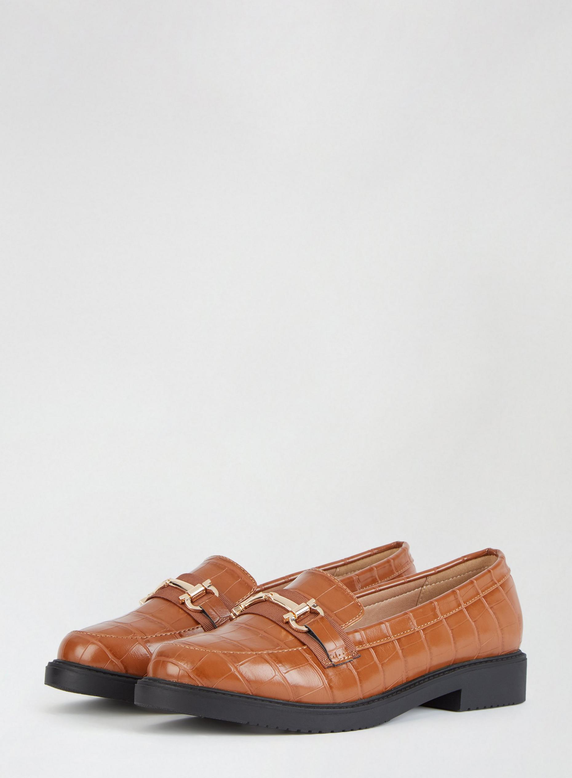 Tan Liberty Loafers