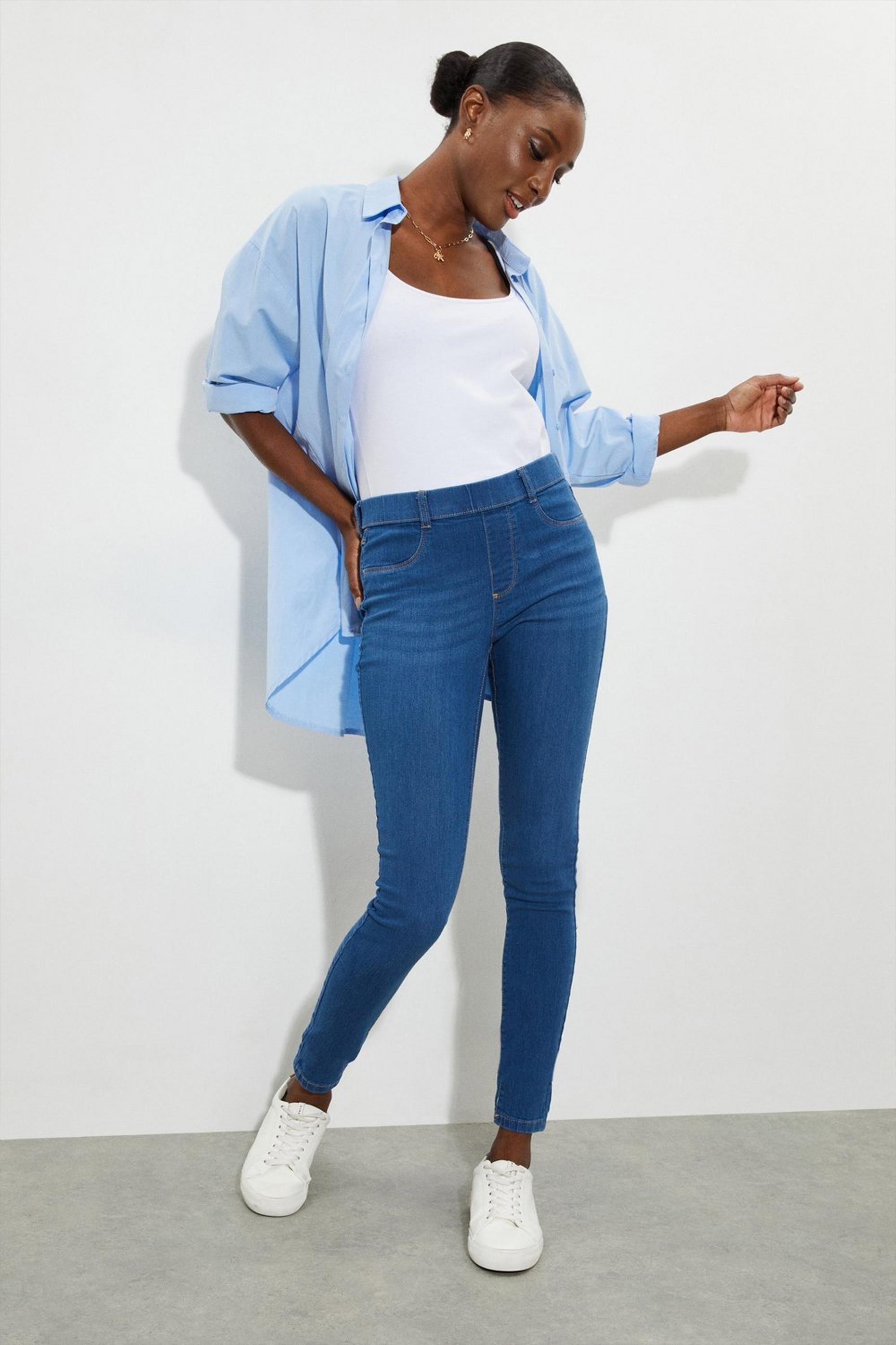 Organic Midwash Short Eden Jeggings