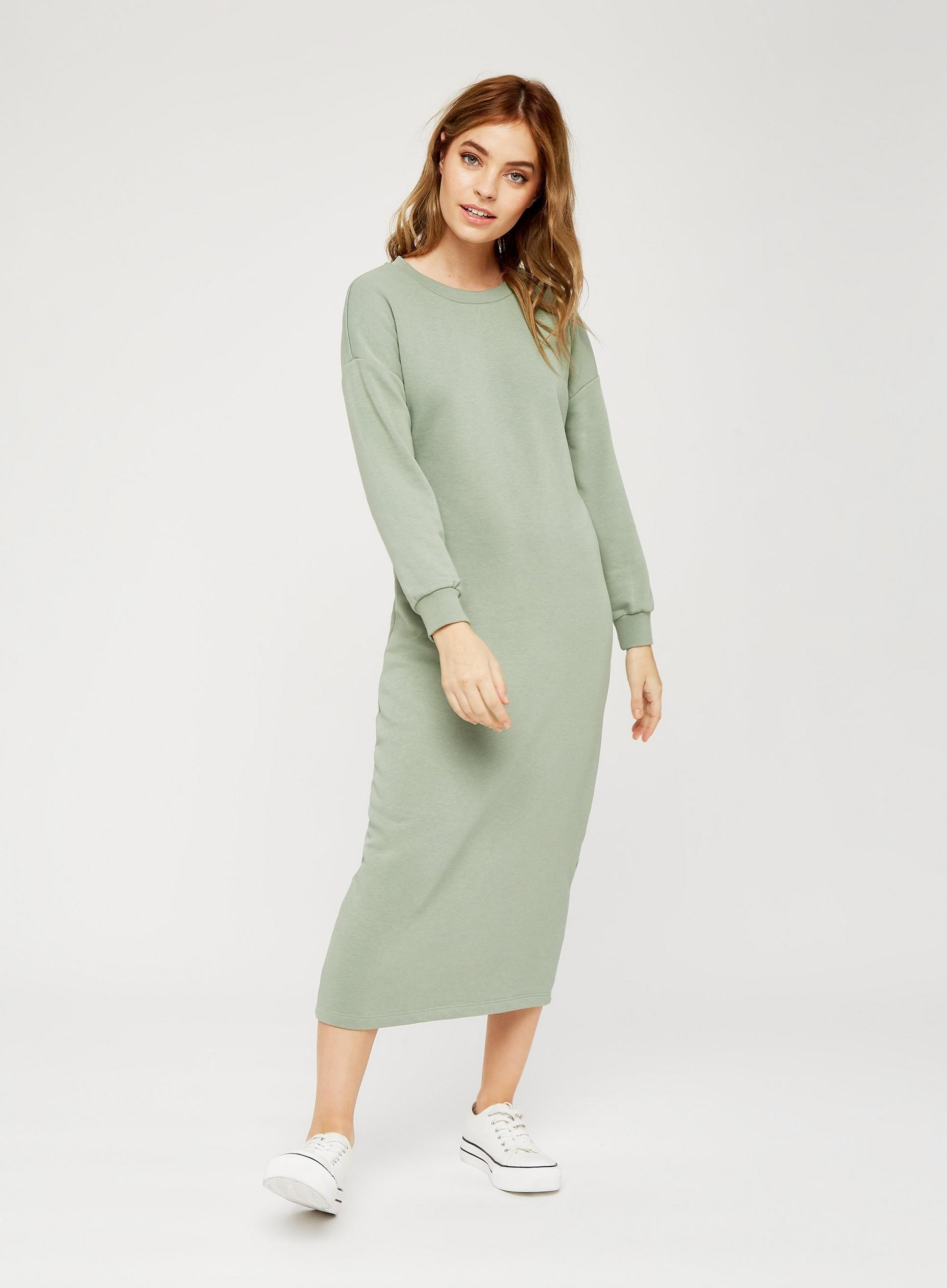 Petite Pistachio Knitted Dress