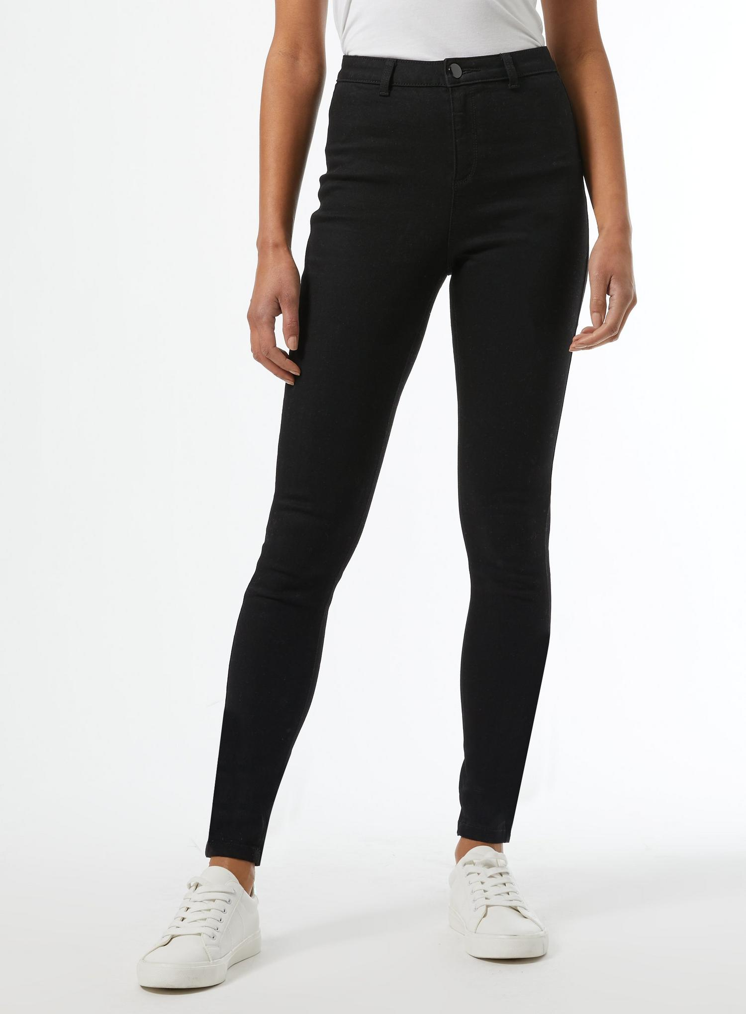 105 Black Long Lyla High Waisted Skinny Jean image number 1