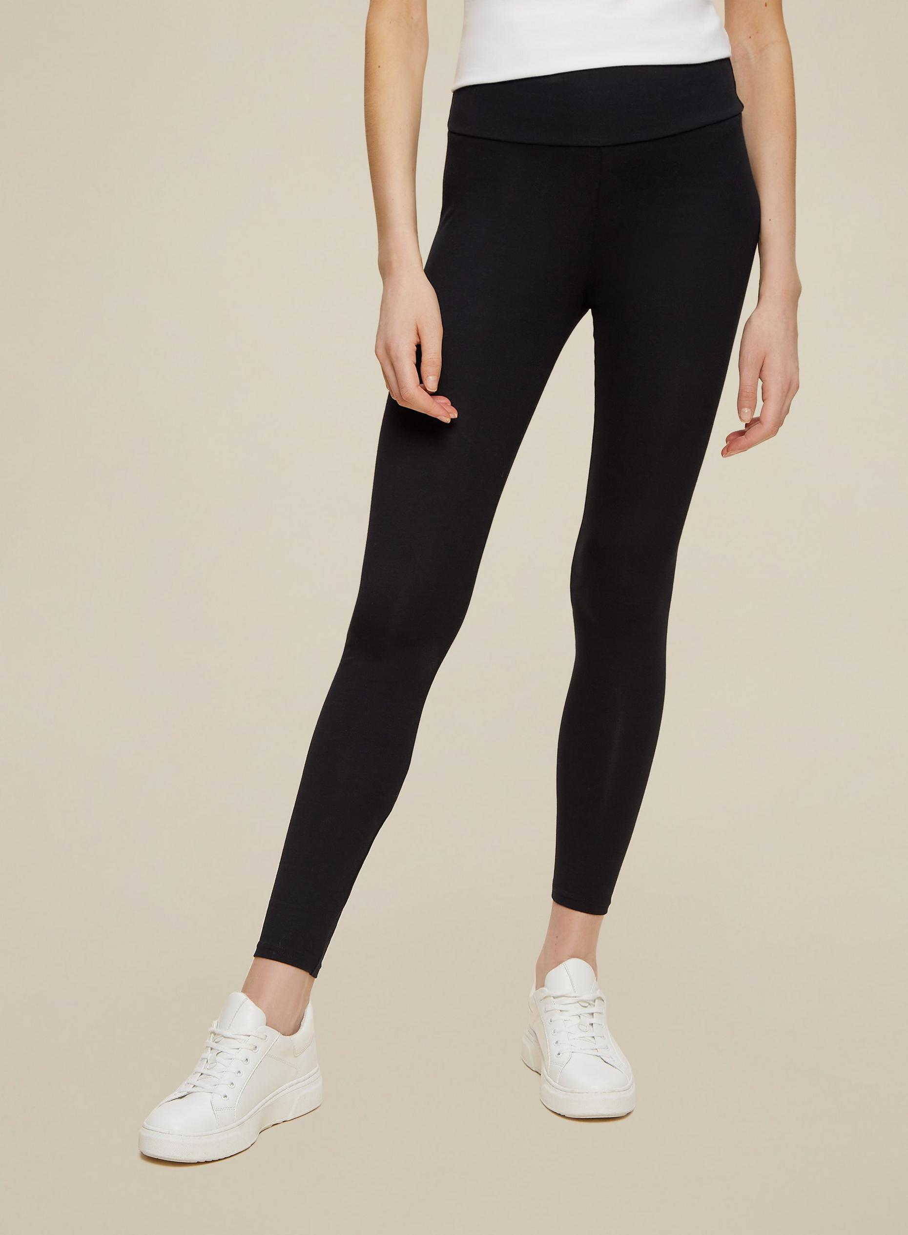 Black Organic Cotton Leggings