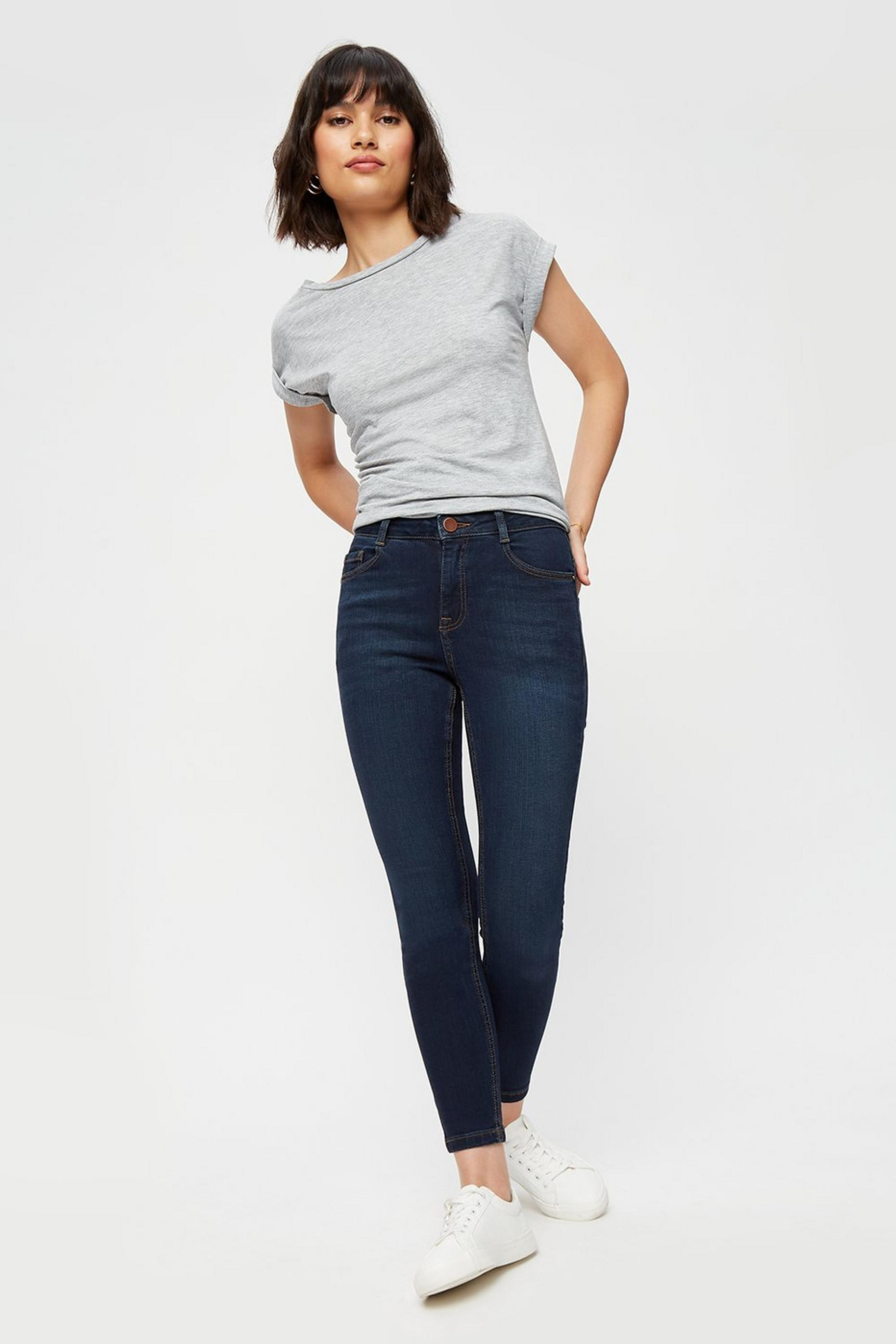 Petite Indigo Shape and Lift Jeans