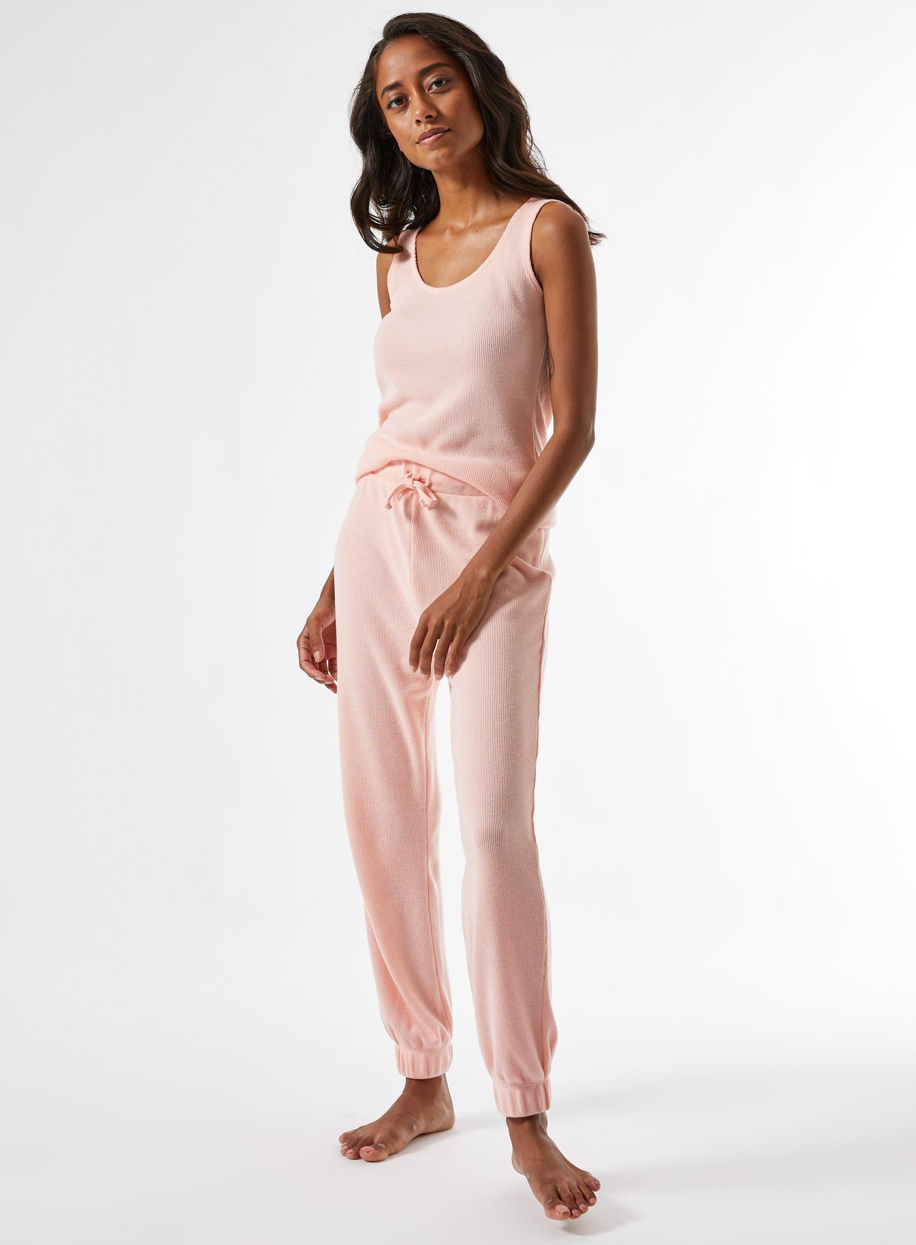 Petite Blush Loungewear Bottoms
