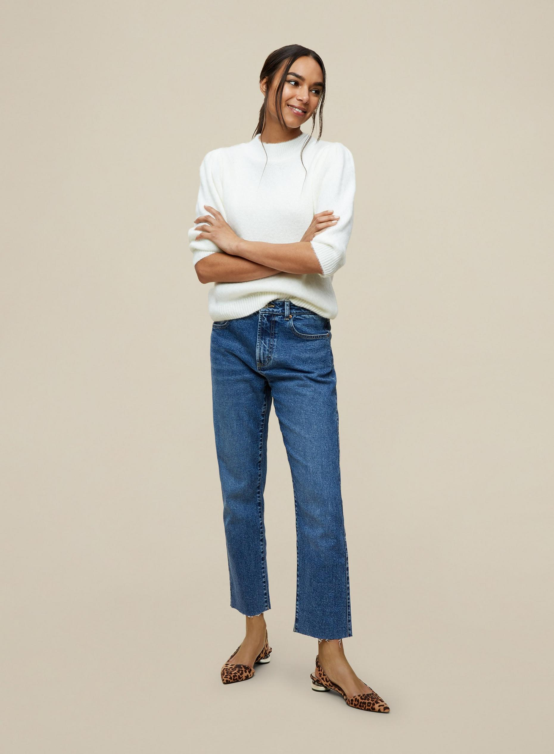 Midwash Straight Jeans