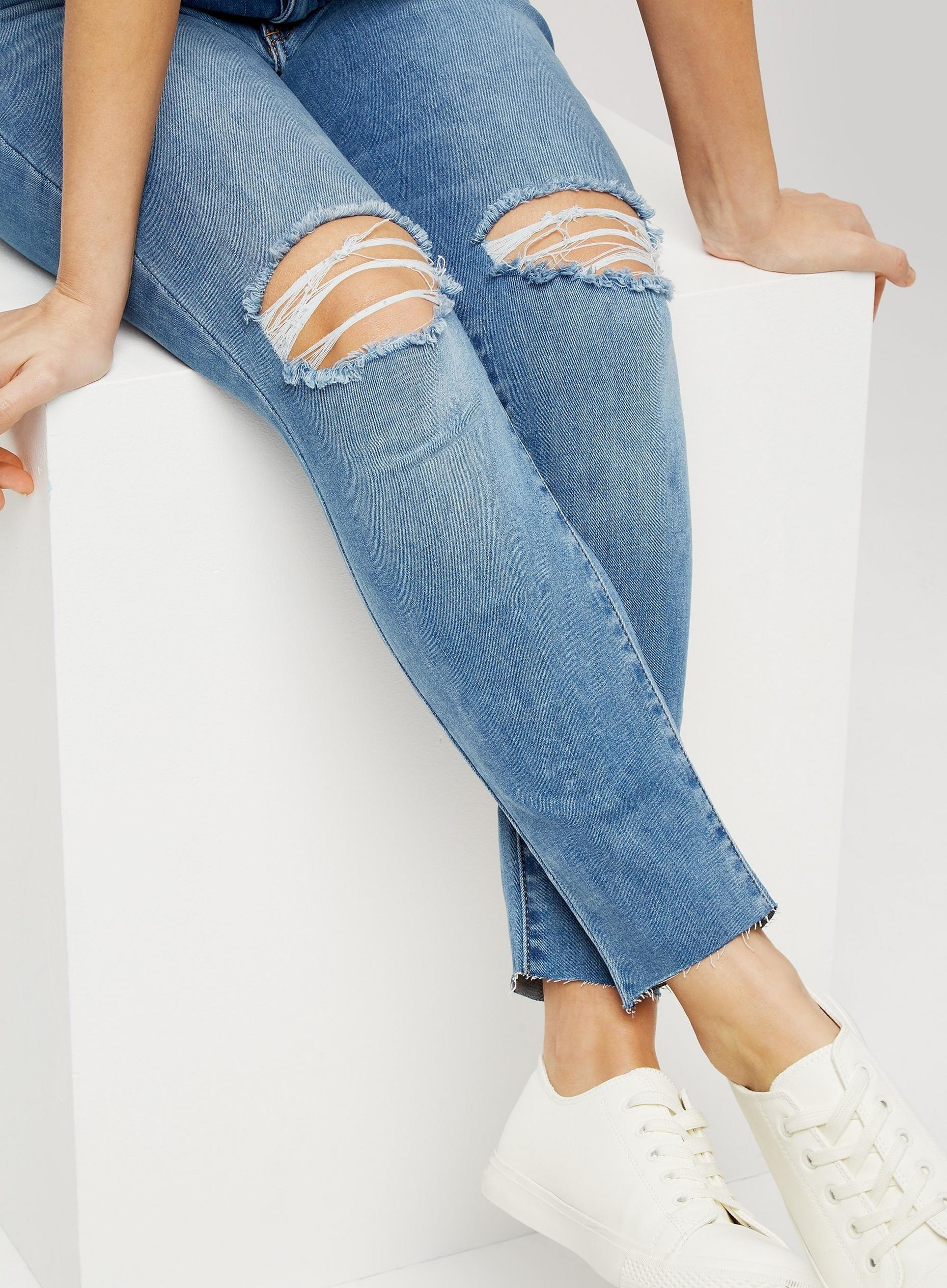 Petite Light Wash Alex Jeans