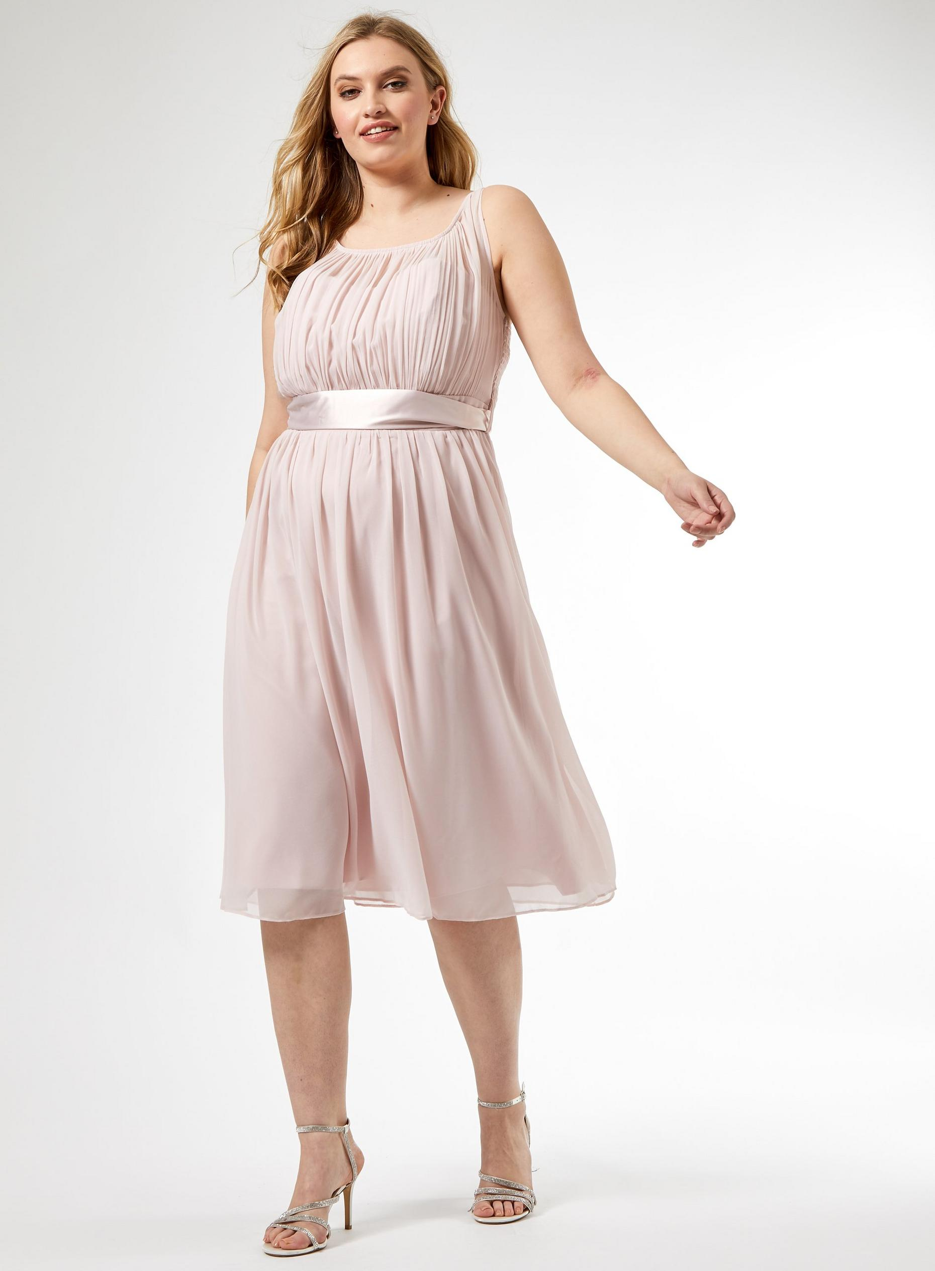 Curve Blush Bethany Dress