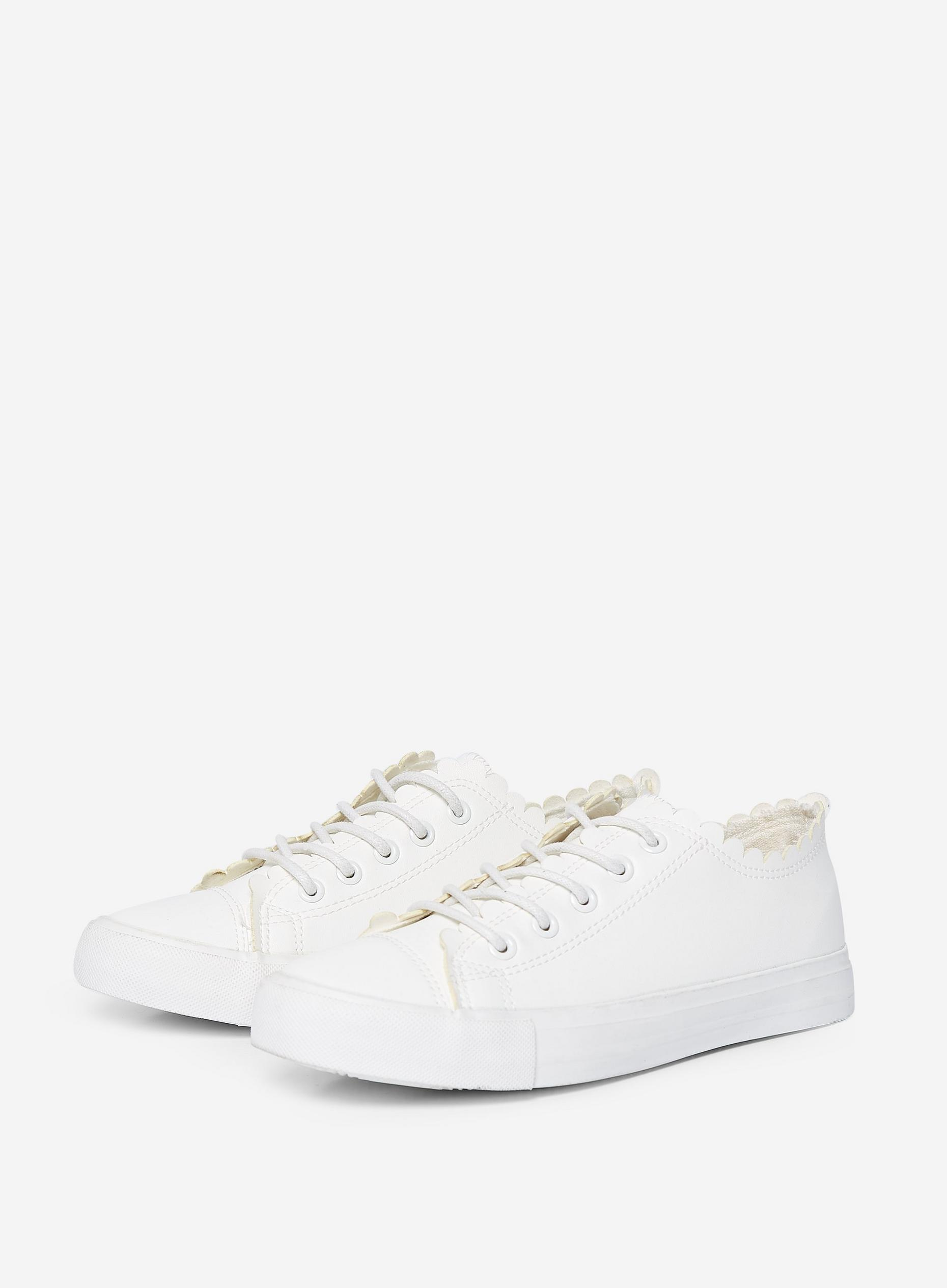 White Isabella Trainers