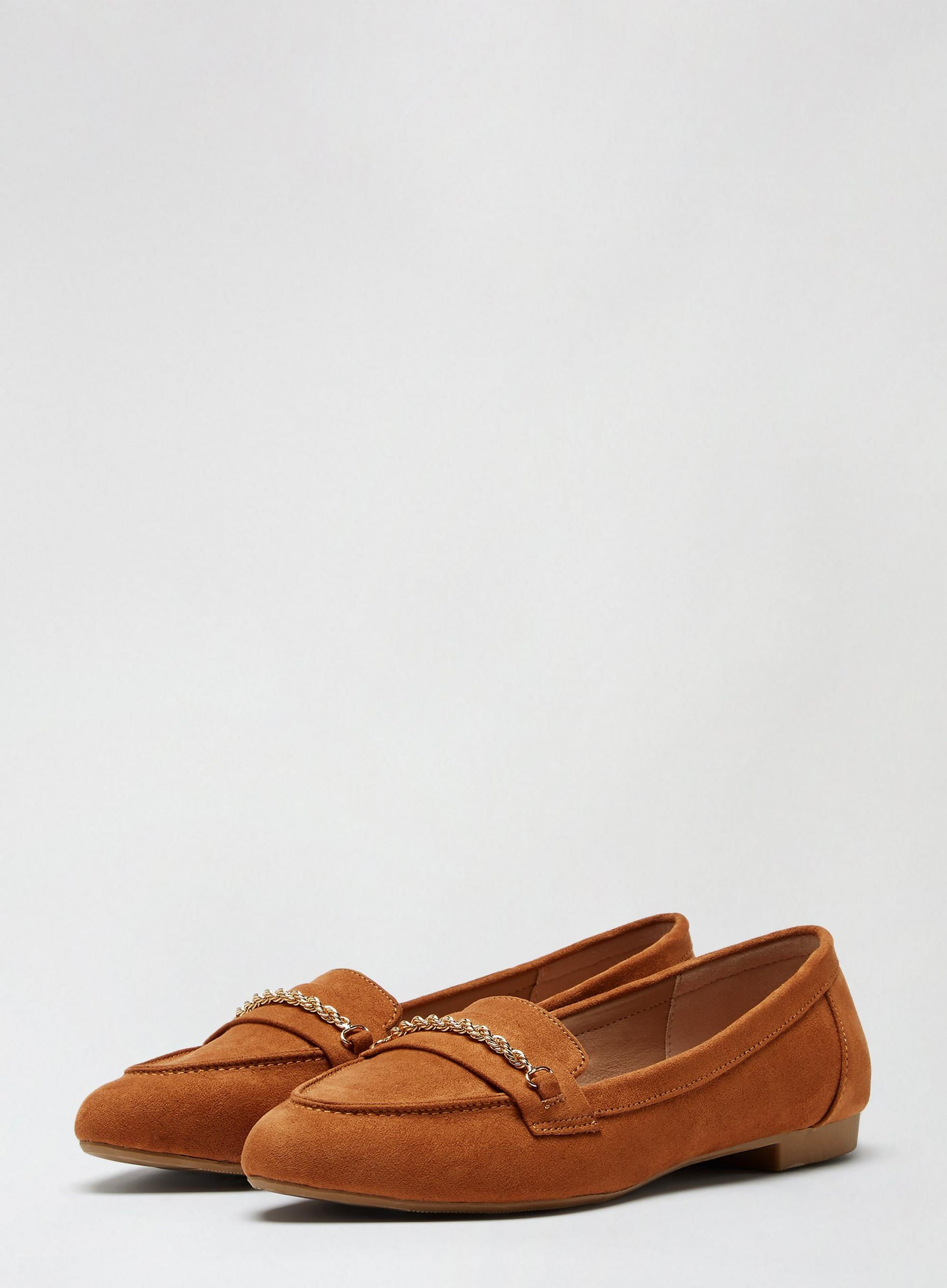 Tan Preppy Loafers