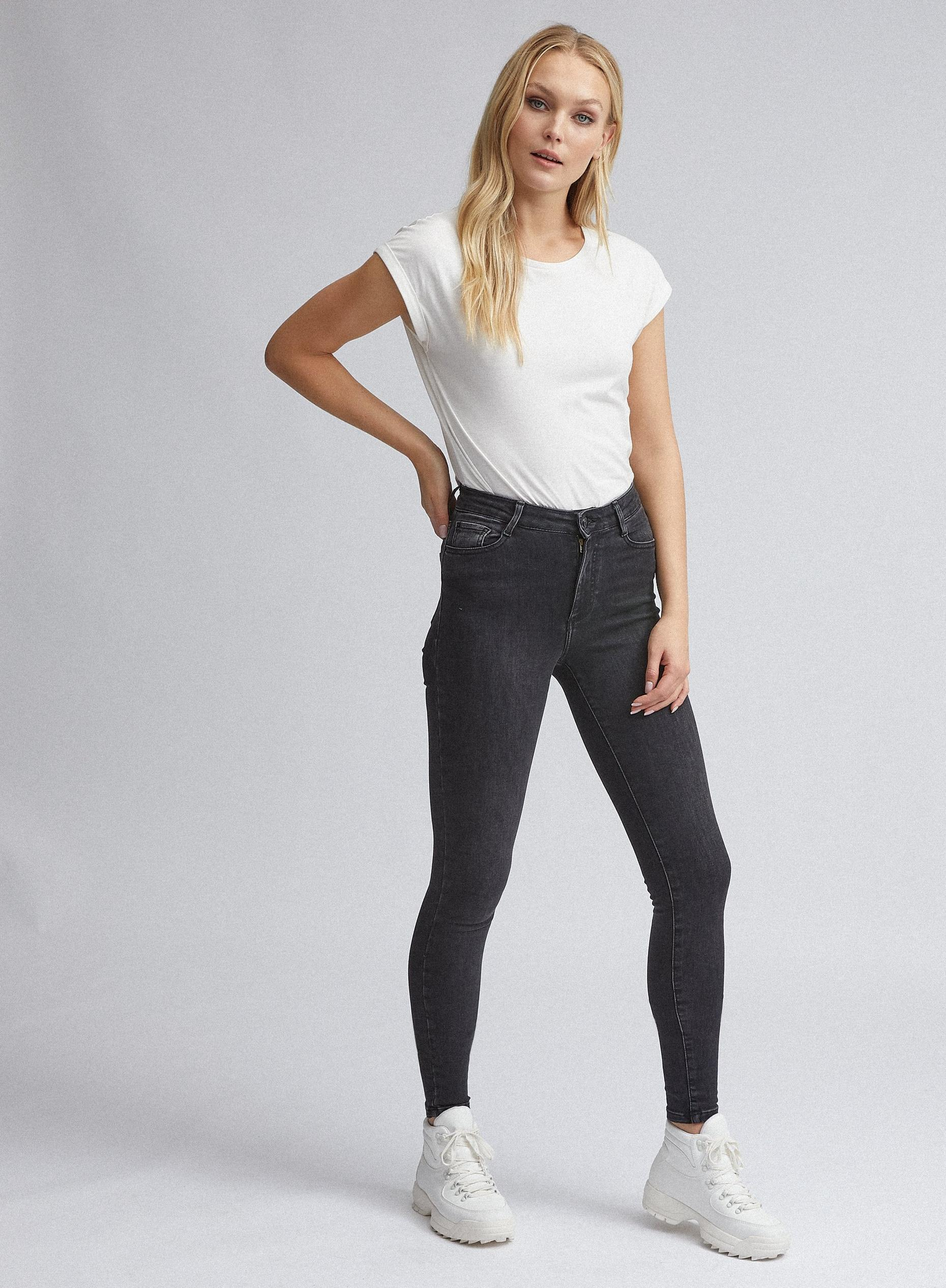 Tall Black Alex Skinny Denim Jean