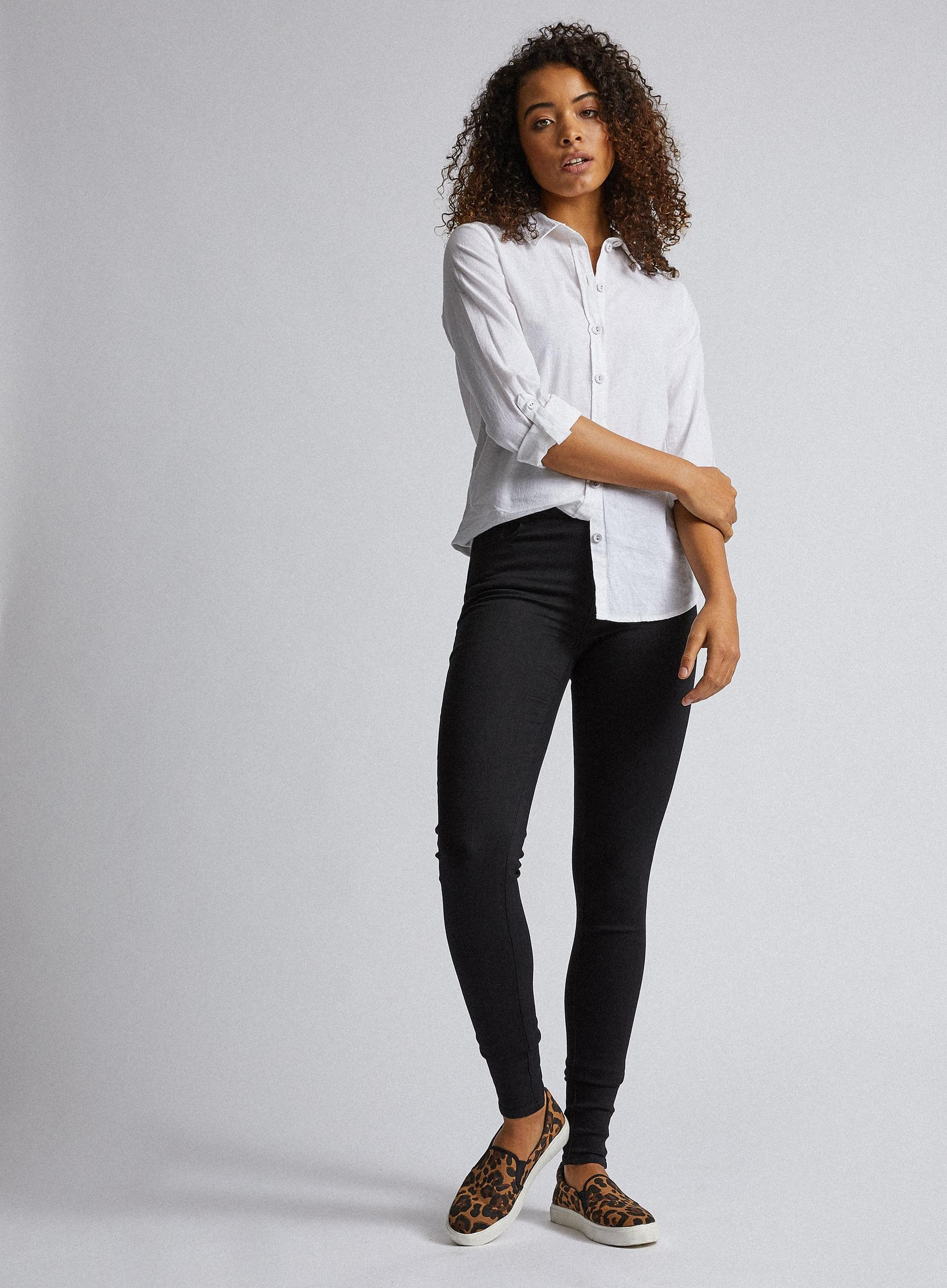 Tall Black Ellis Skinny Jeans