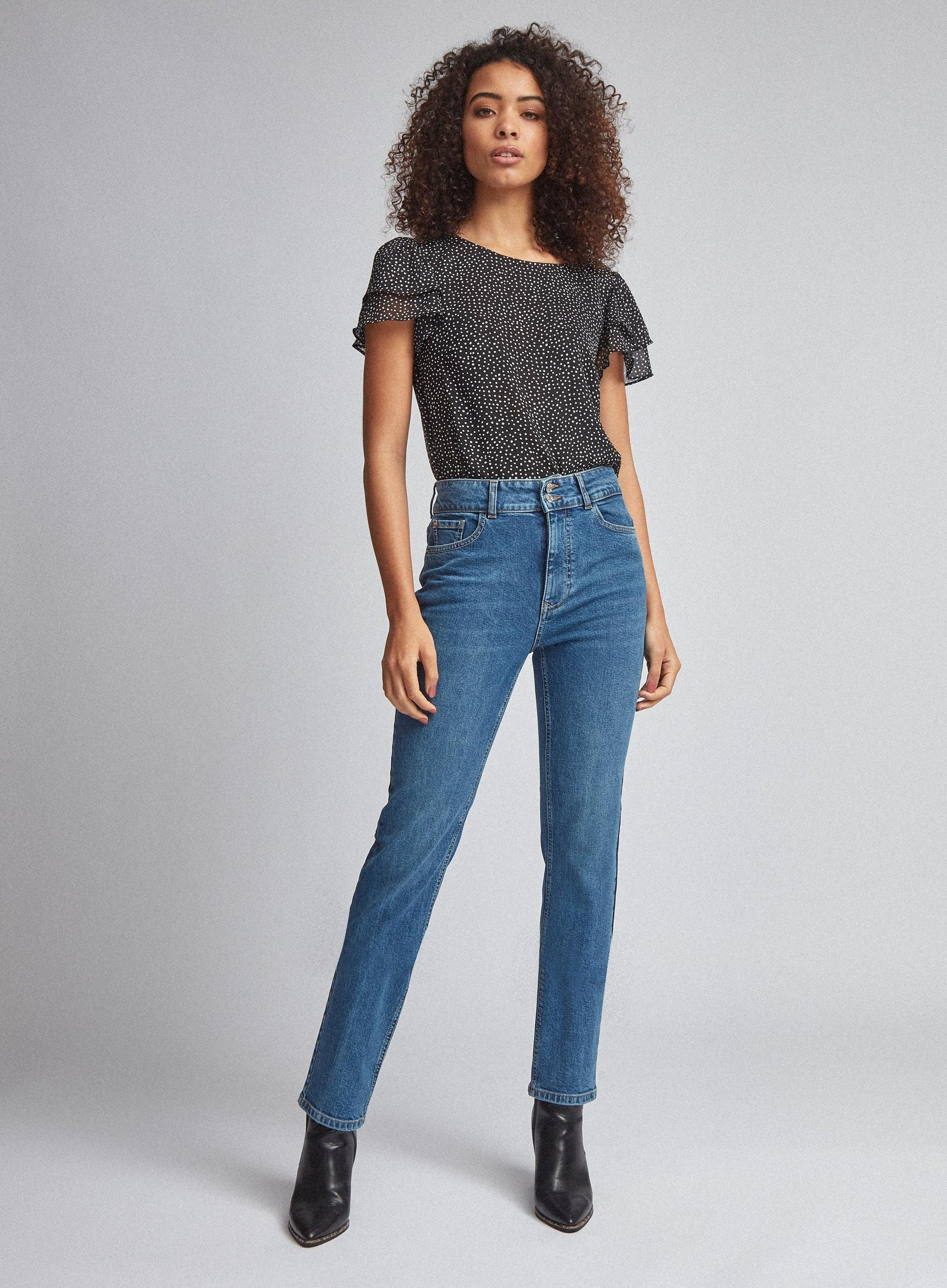 Tall Mid Wash Slim Denim Jean