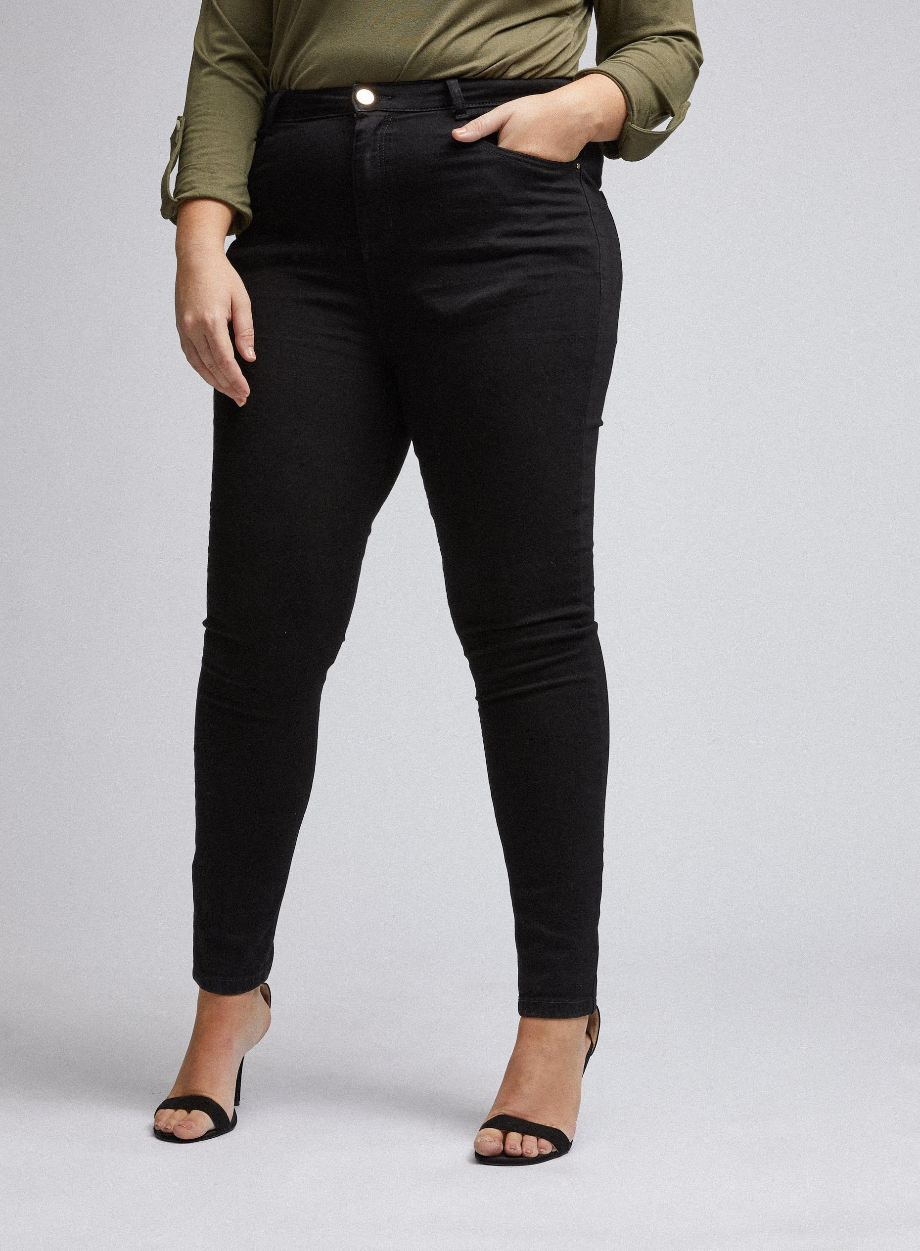 Curve Black Shape and Lift Skinny Jeans