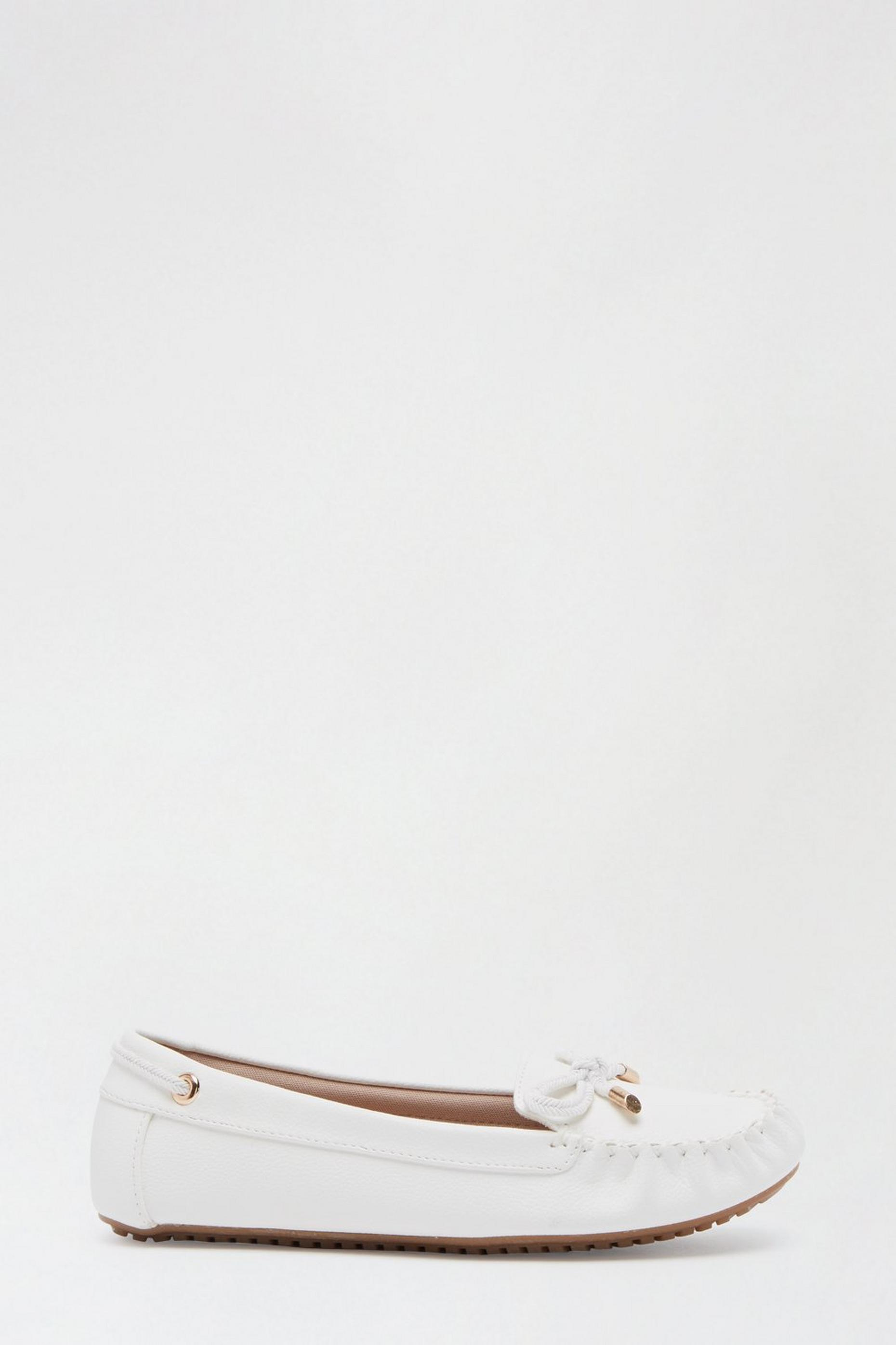 Comfort White Levi Loafer