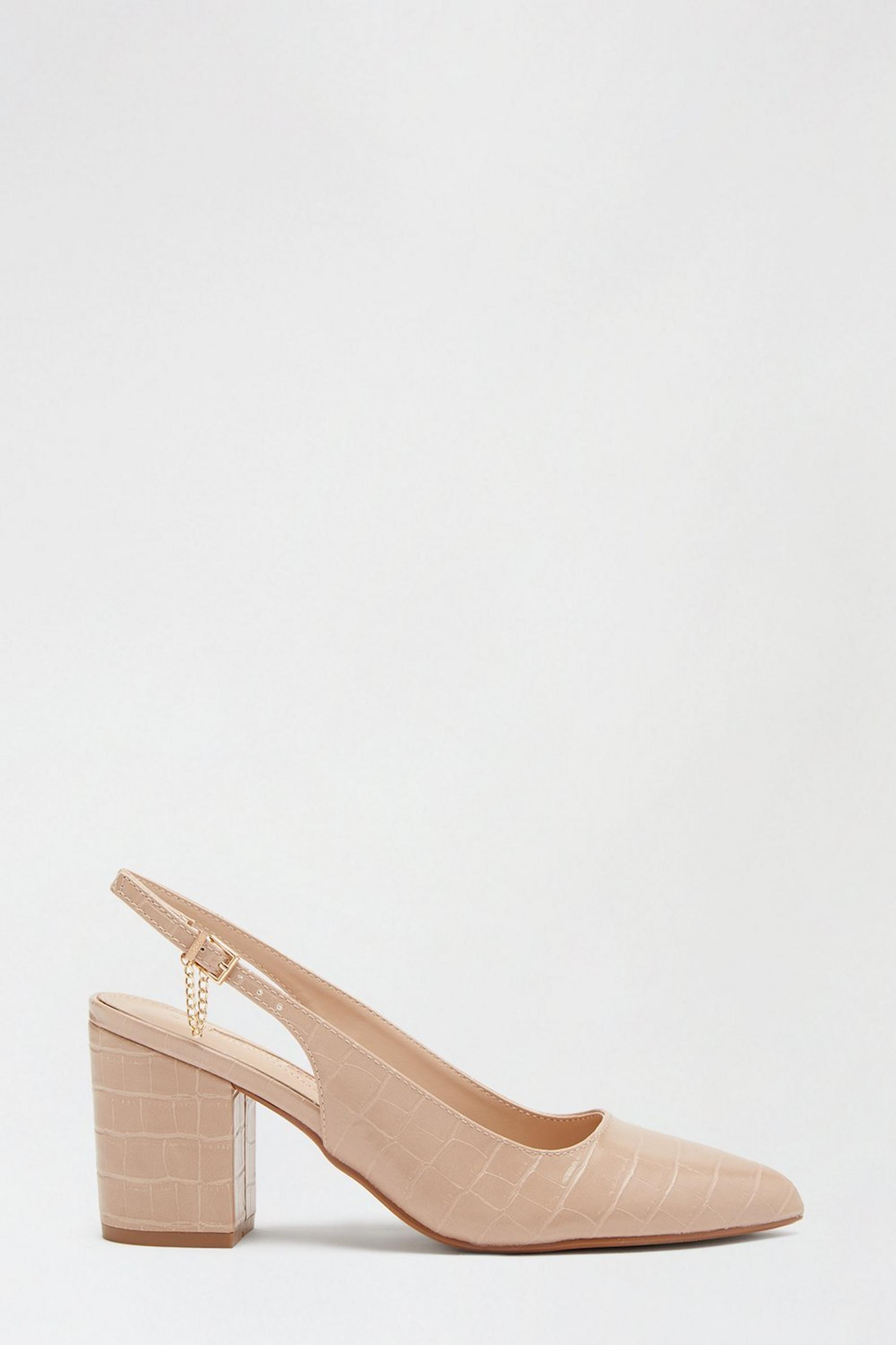 Blush Everlyn Slingback Court Shoe