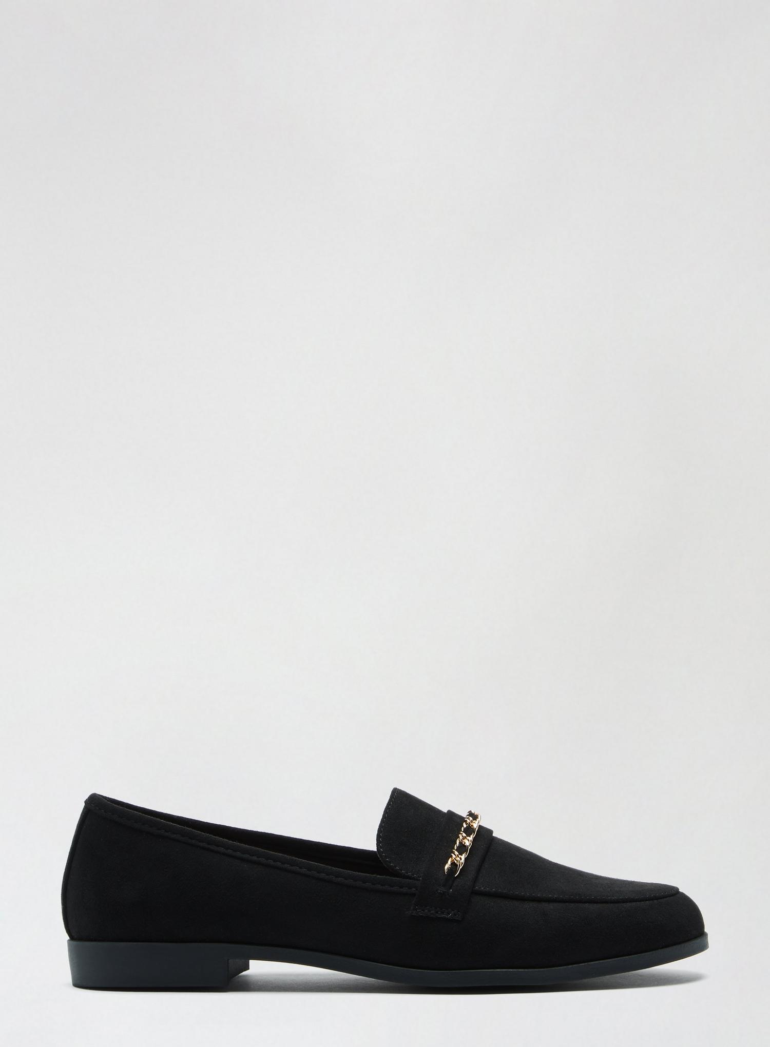105 Black Libra Loafers image number 1