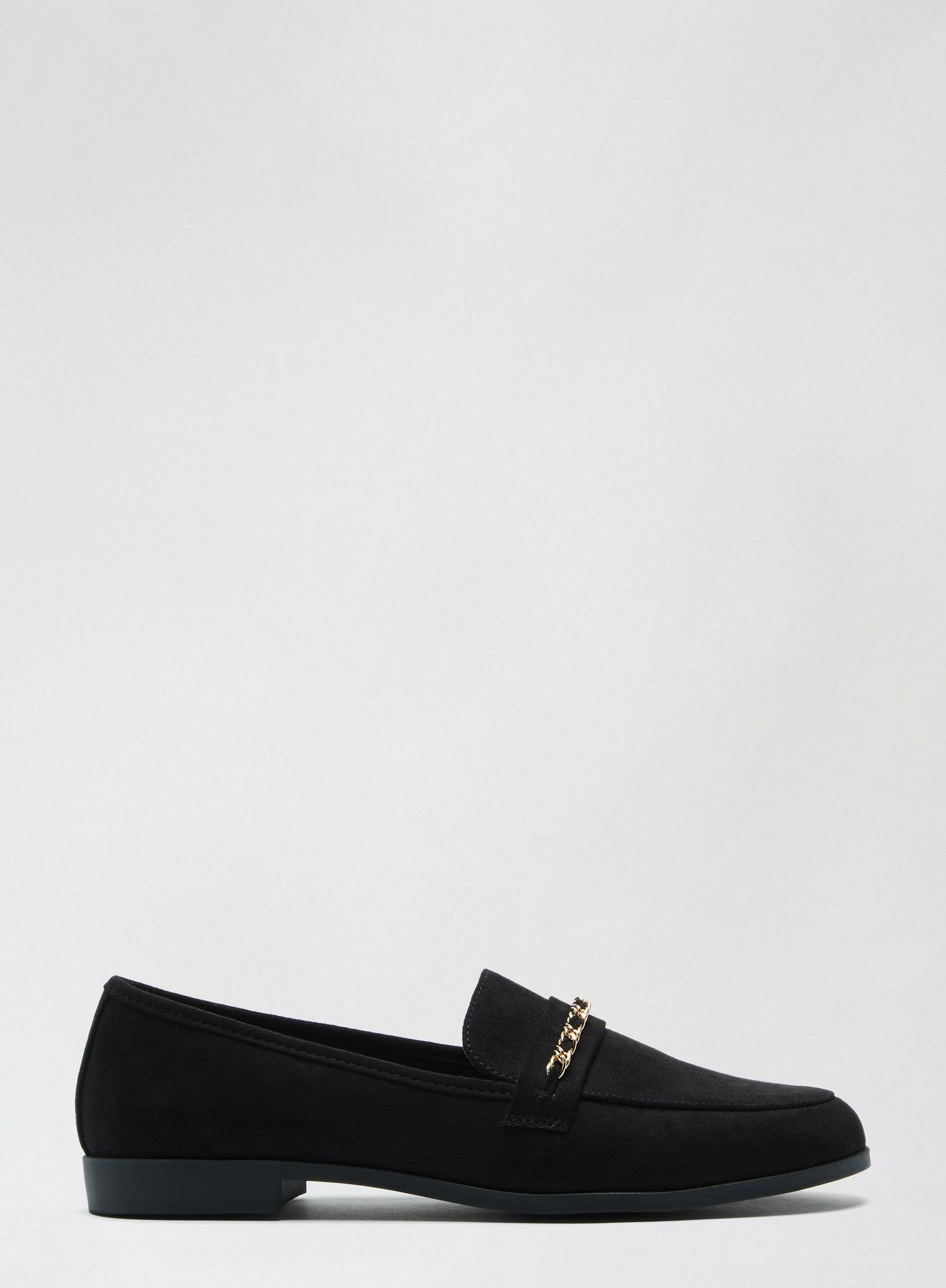 Black Libra Loafers