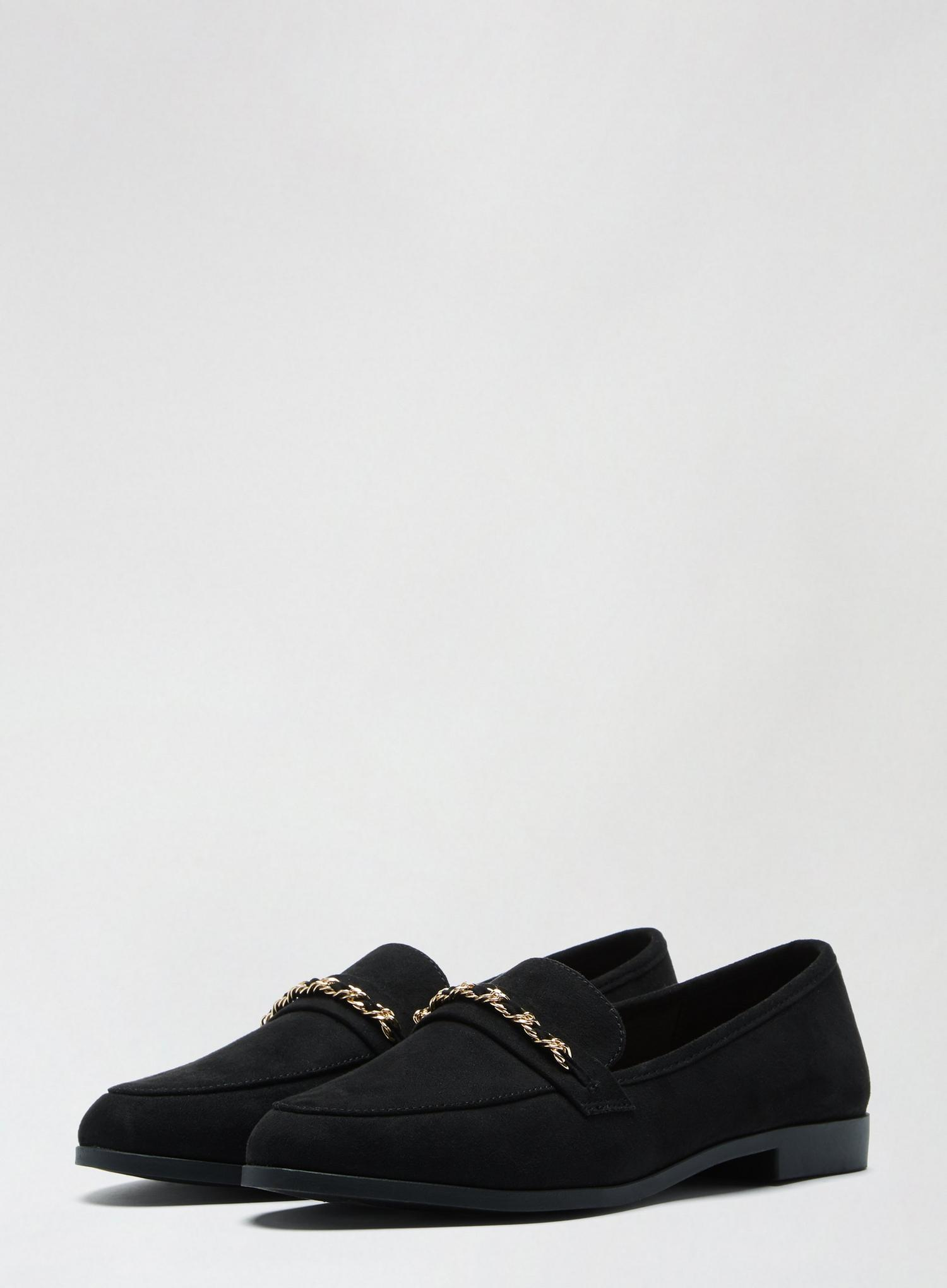105 Black Libra Loafers image number 2