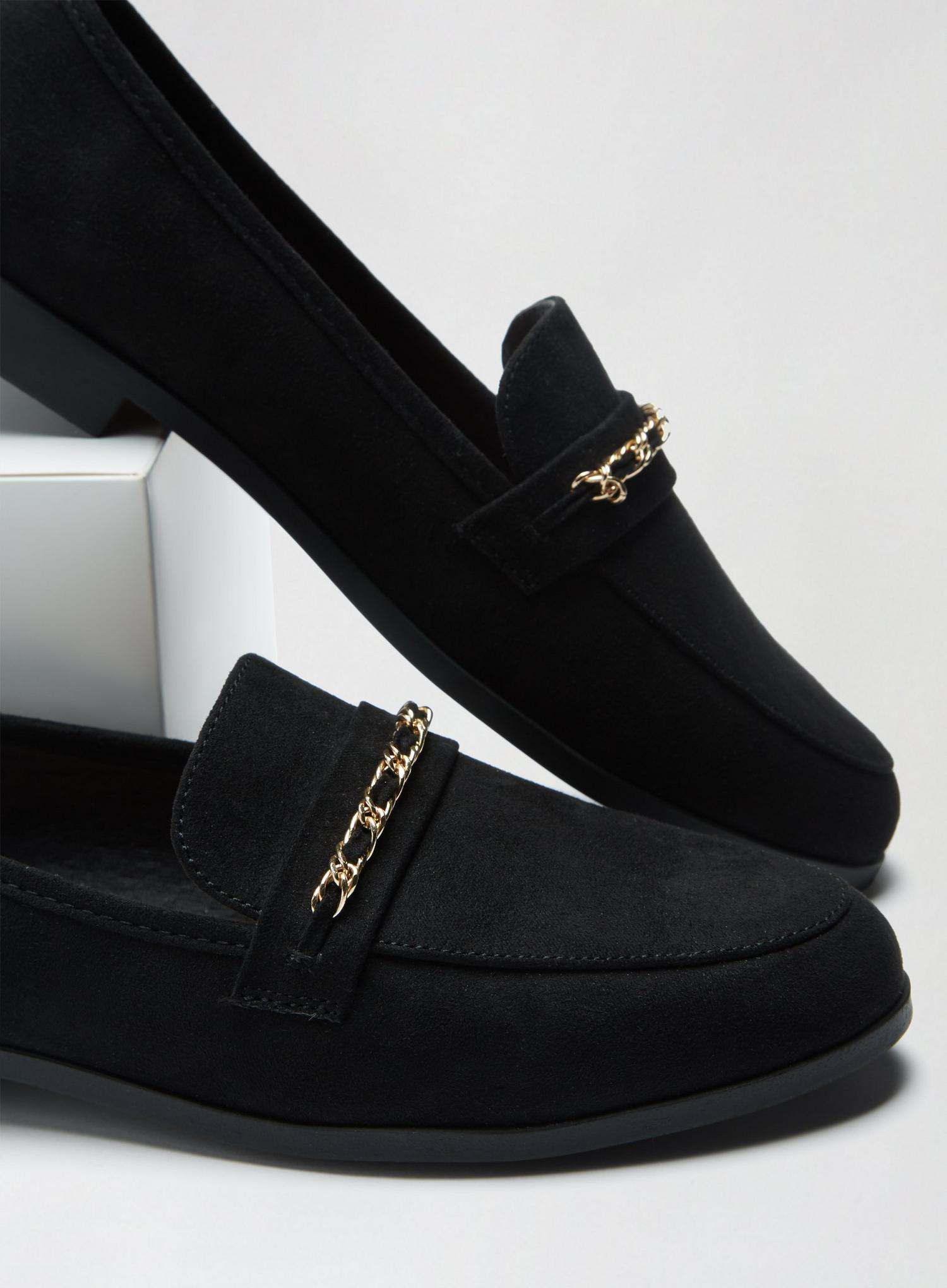 105 Black Libra Loafers image number 3