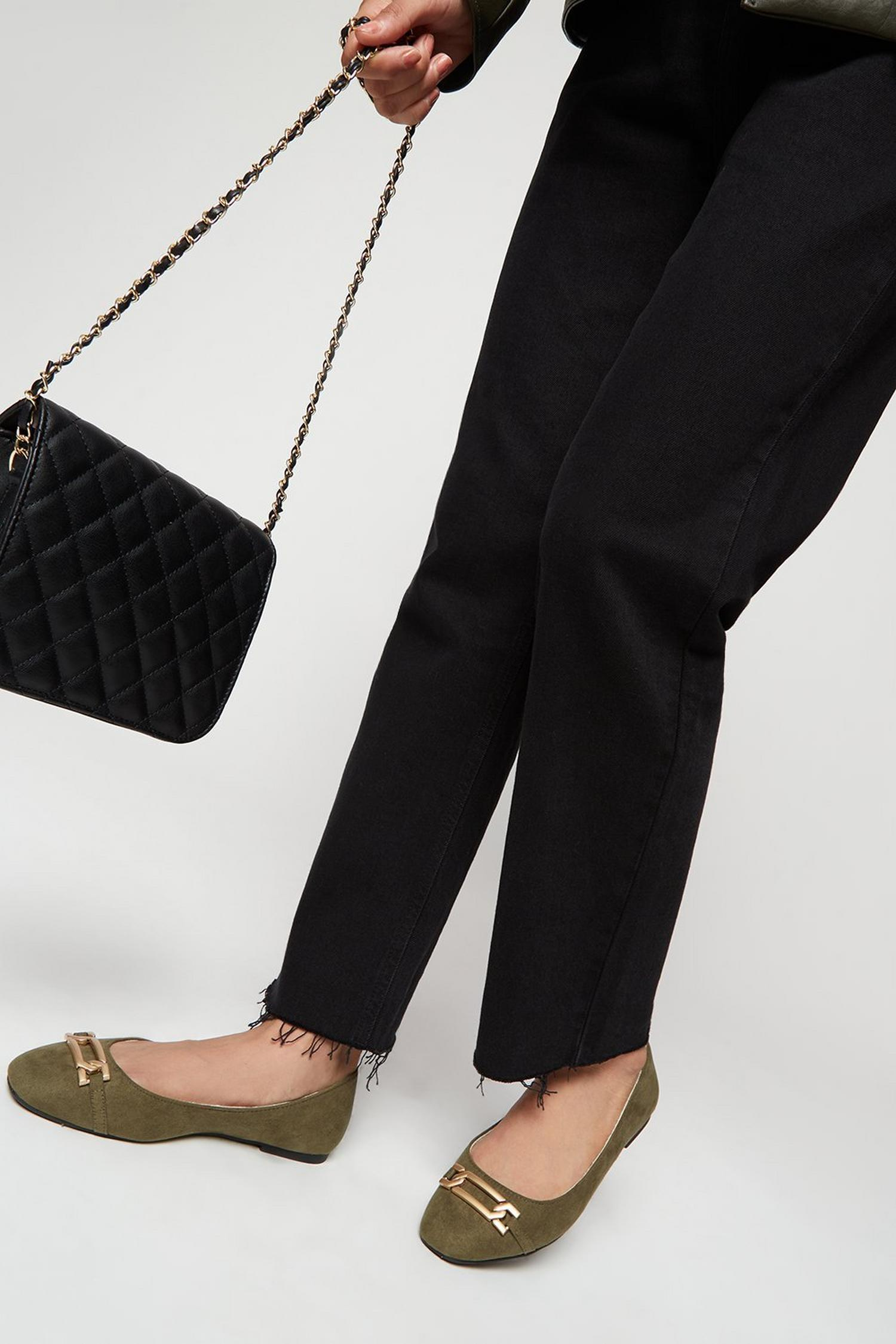 511 Wide Fit Olive Pinch Pumps image number 2