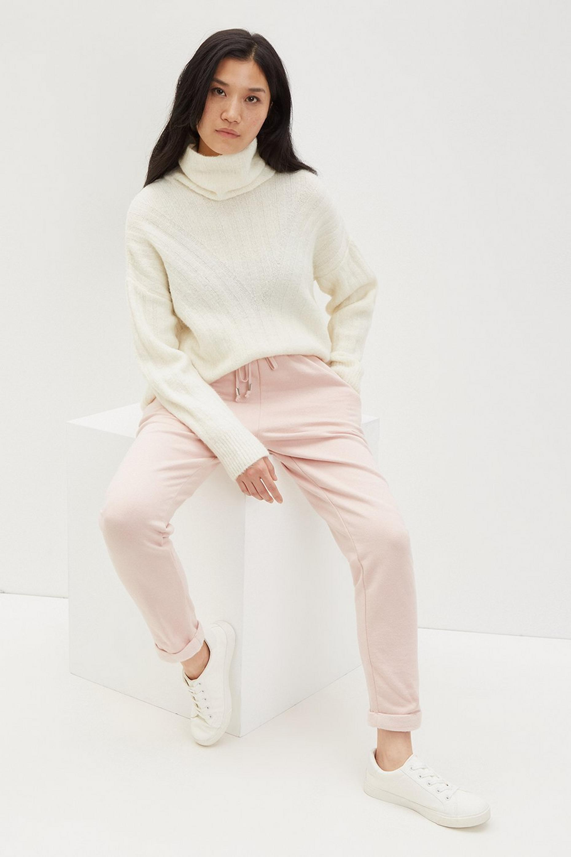 Blush Metal Trim Jogger