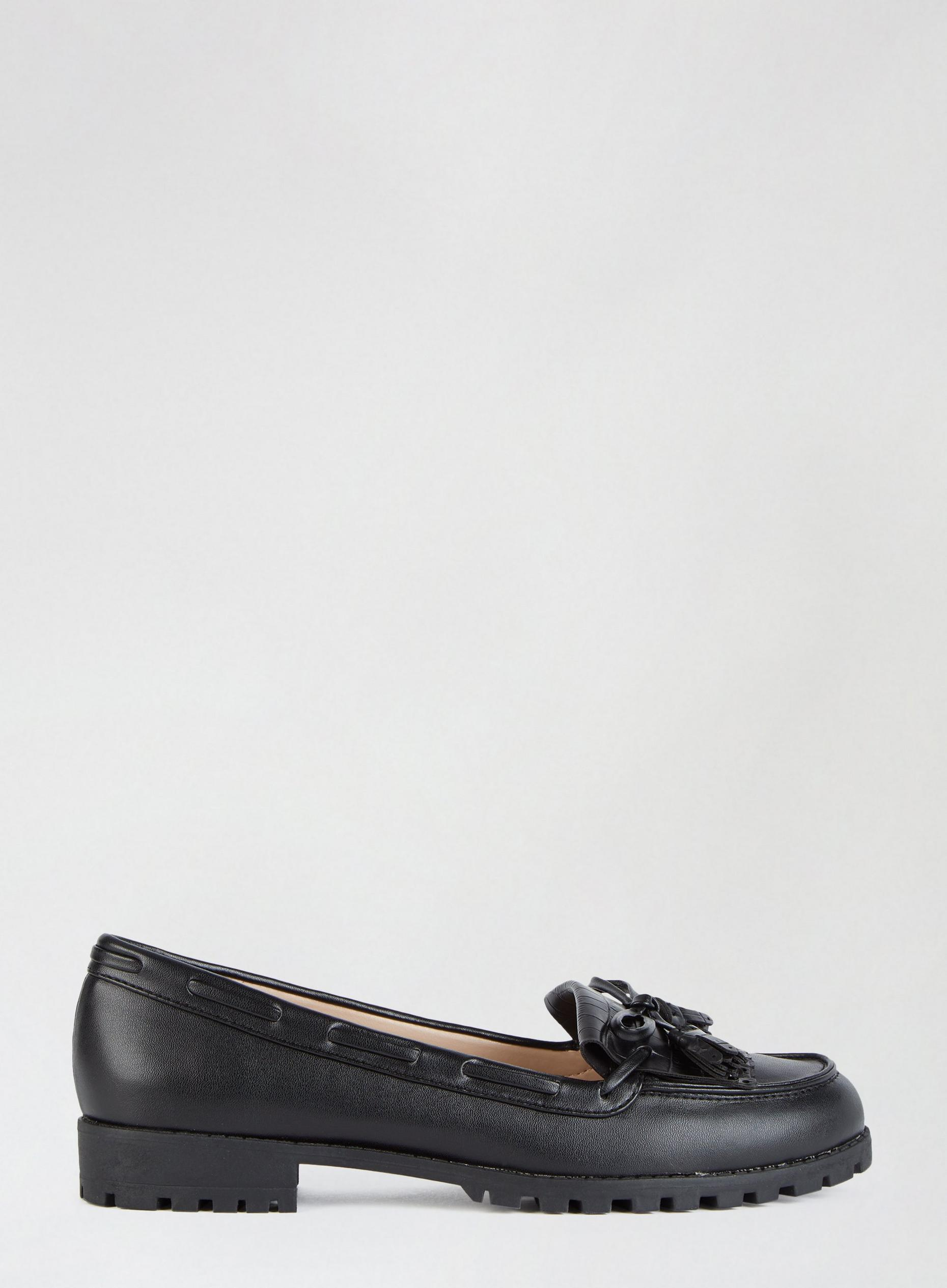 Black Lexington Loafers